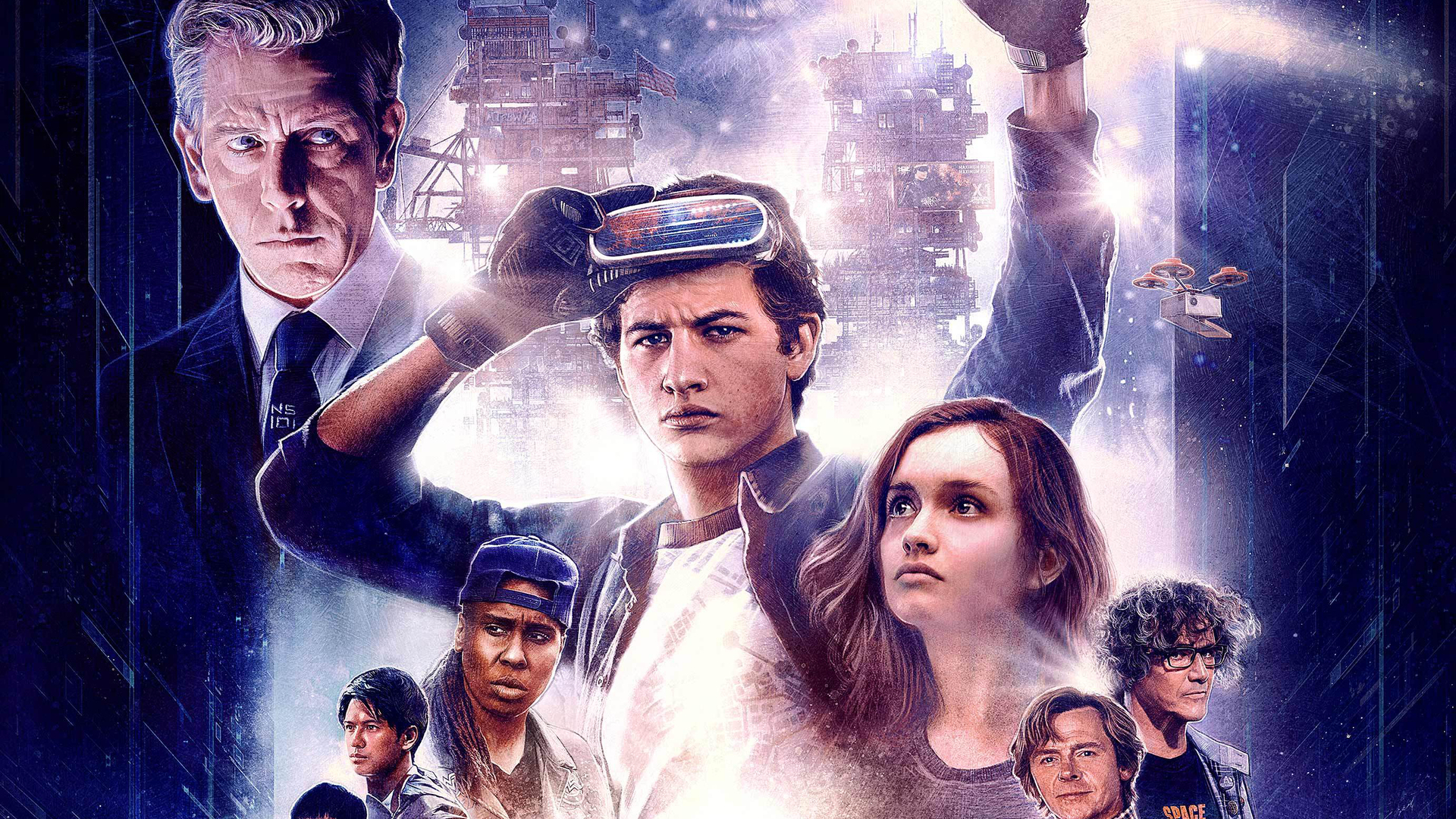 1920x1080 Ready Player One 2018 80s Poster Laptop Full HD ...