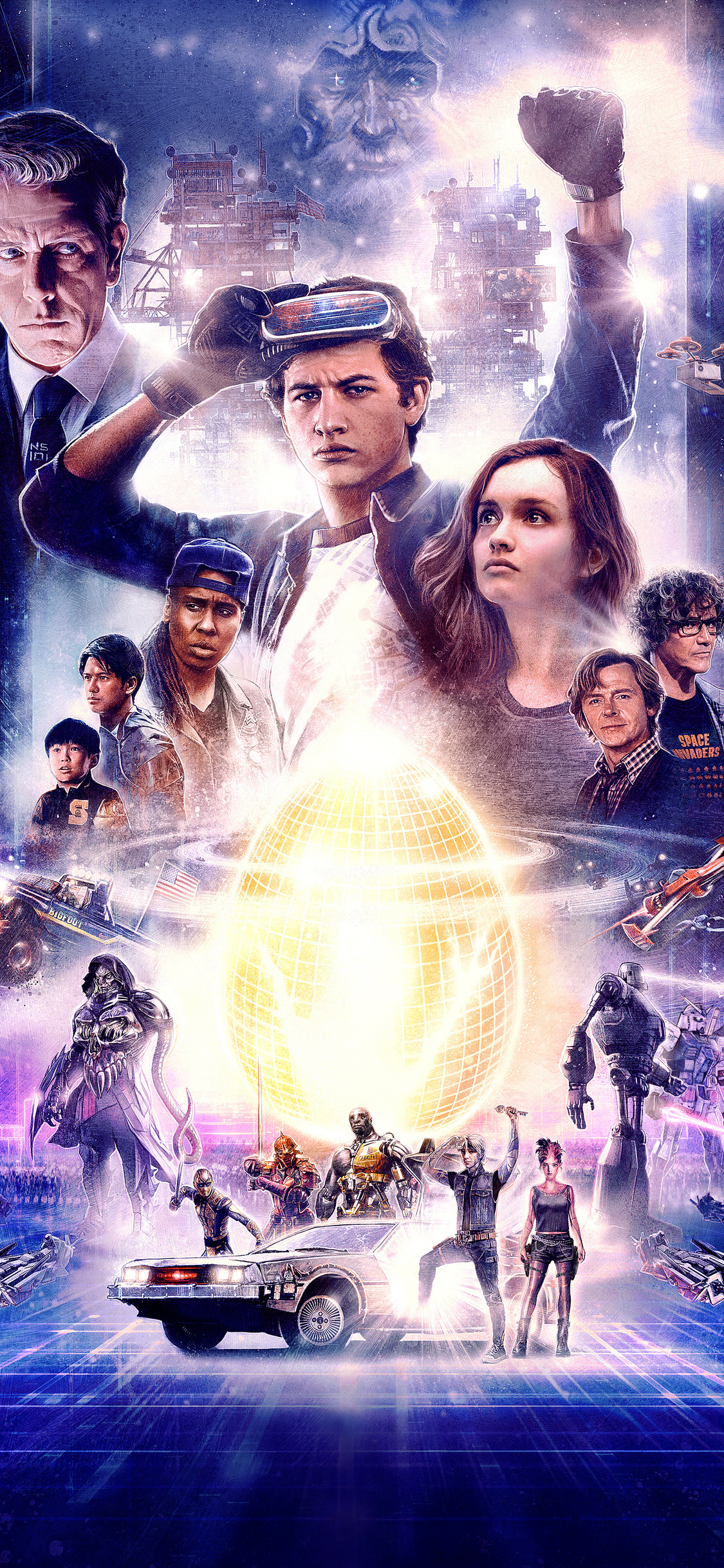 1125x2436 Ready Player One 2018 Movie Artwork Iphone XS,Iphone 10,Iphone X HD 4k Wallpapers