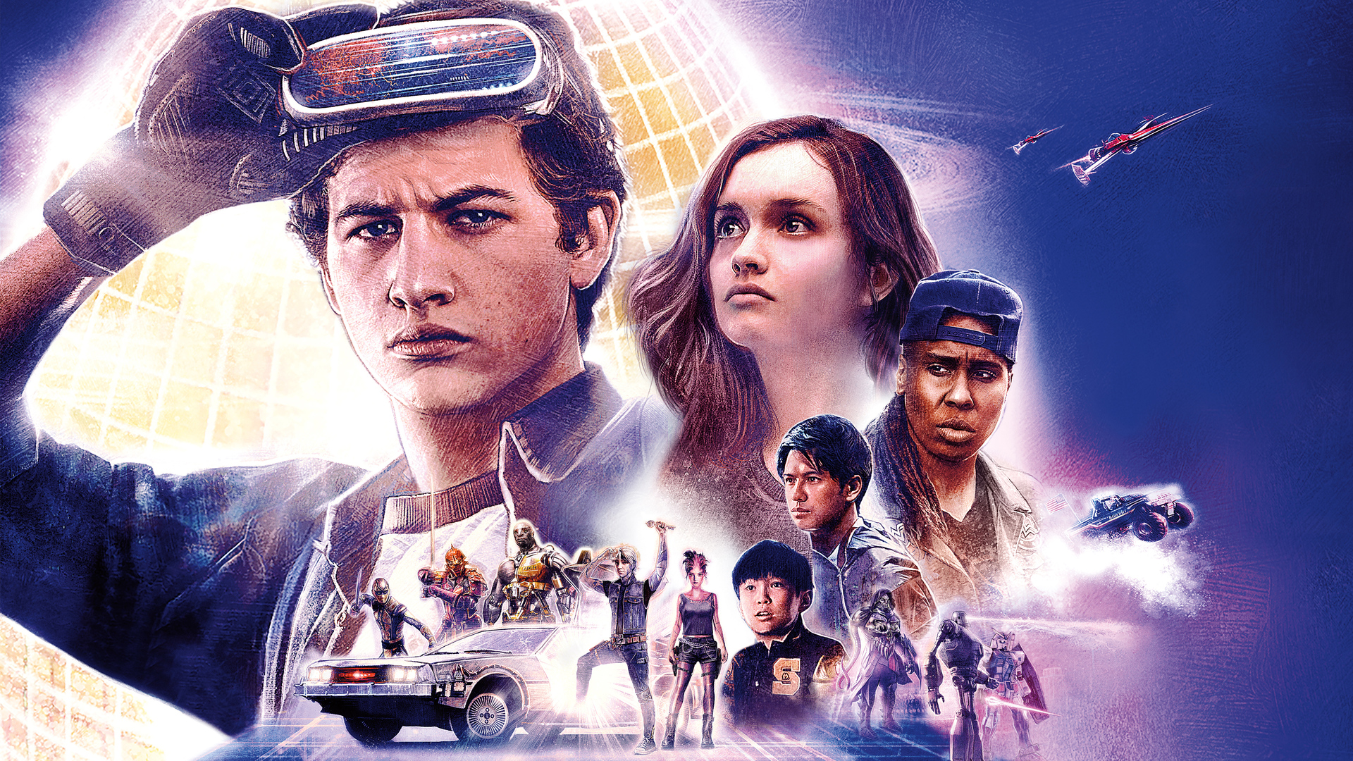 1920x1080 Ready Player One 2018 Movie Poster 4k Laptop ...