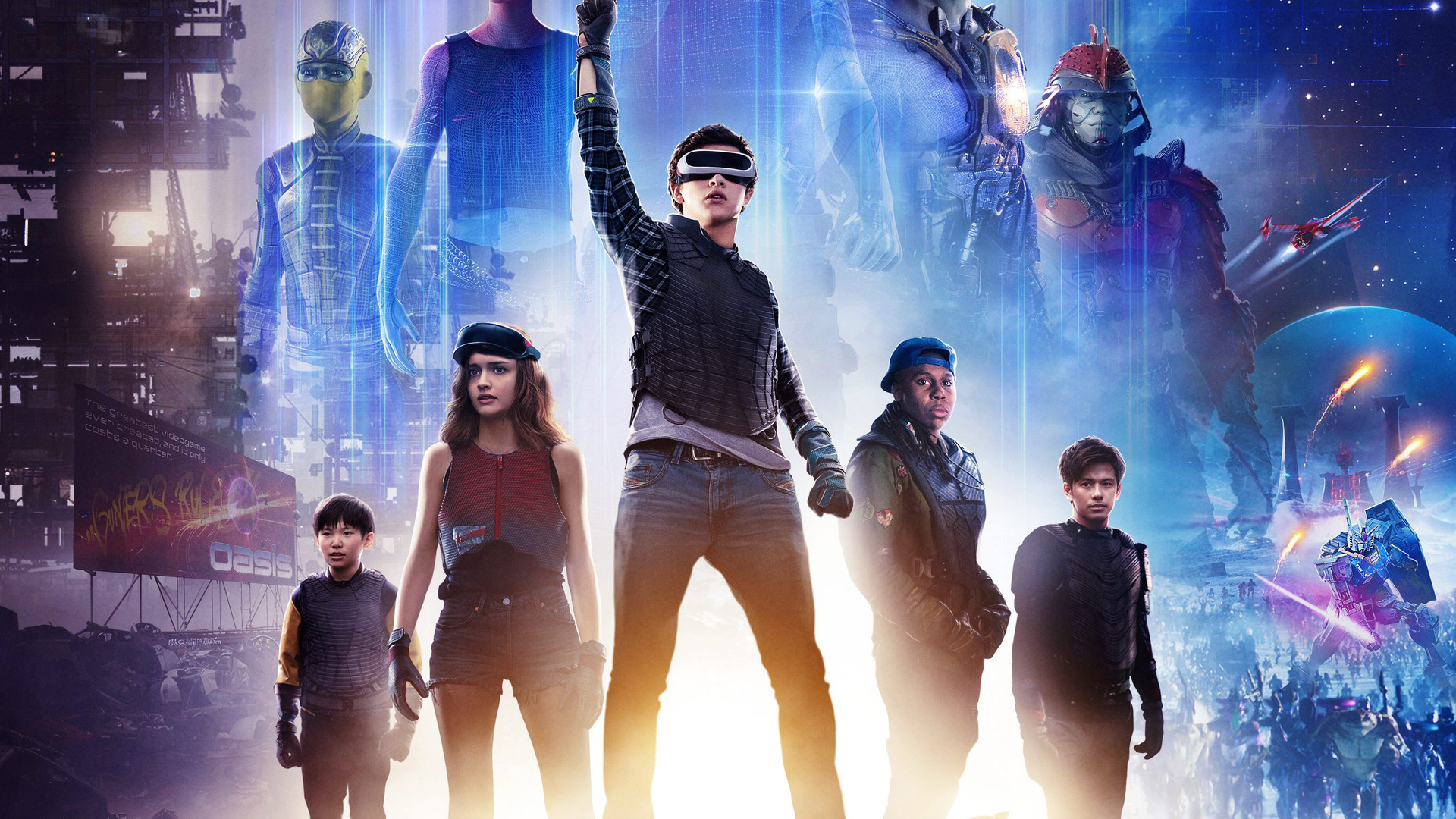 1920x1080 ready player one 2018 movie poster laptop full hd 1080p hd ready player one 2018 movie poster gcg voltagebd Image collections