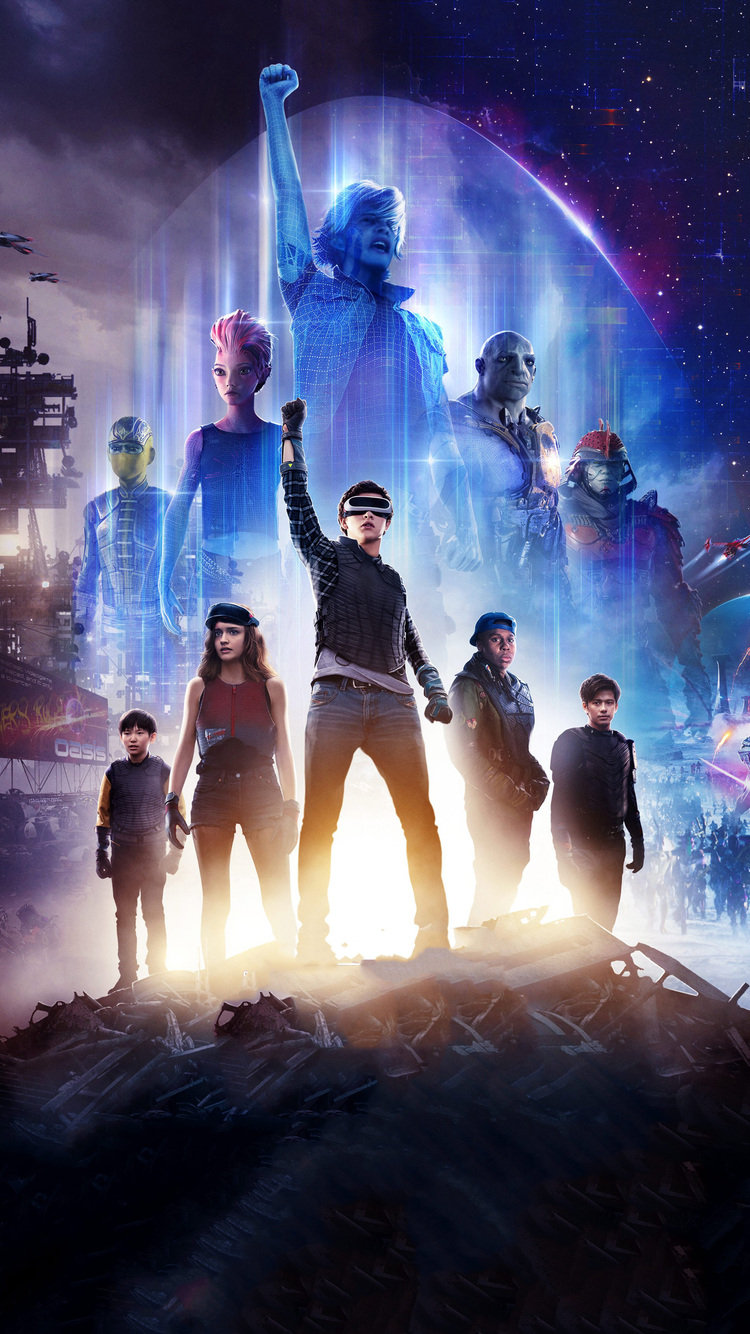 750x1334 Ready Player One 2018 Movie Poster Iphone 6 Iphone 6s