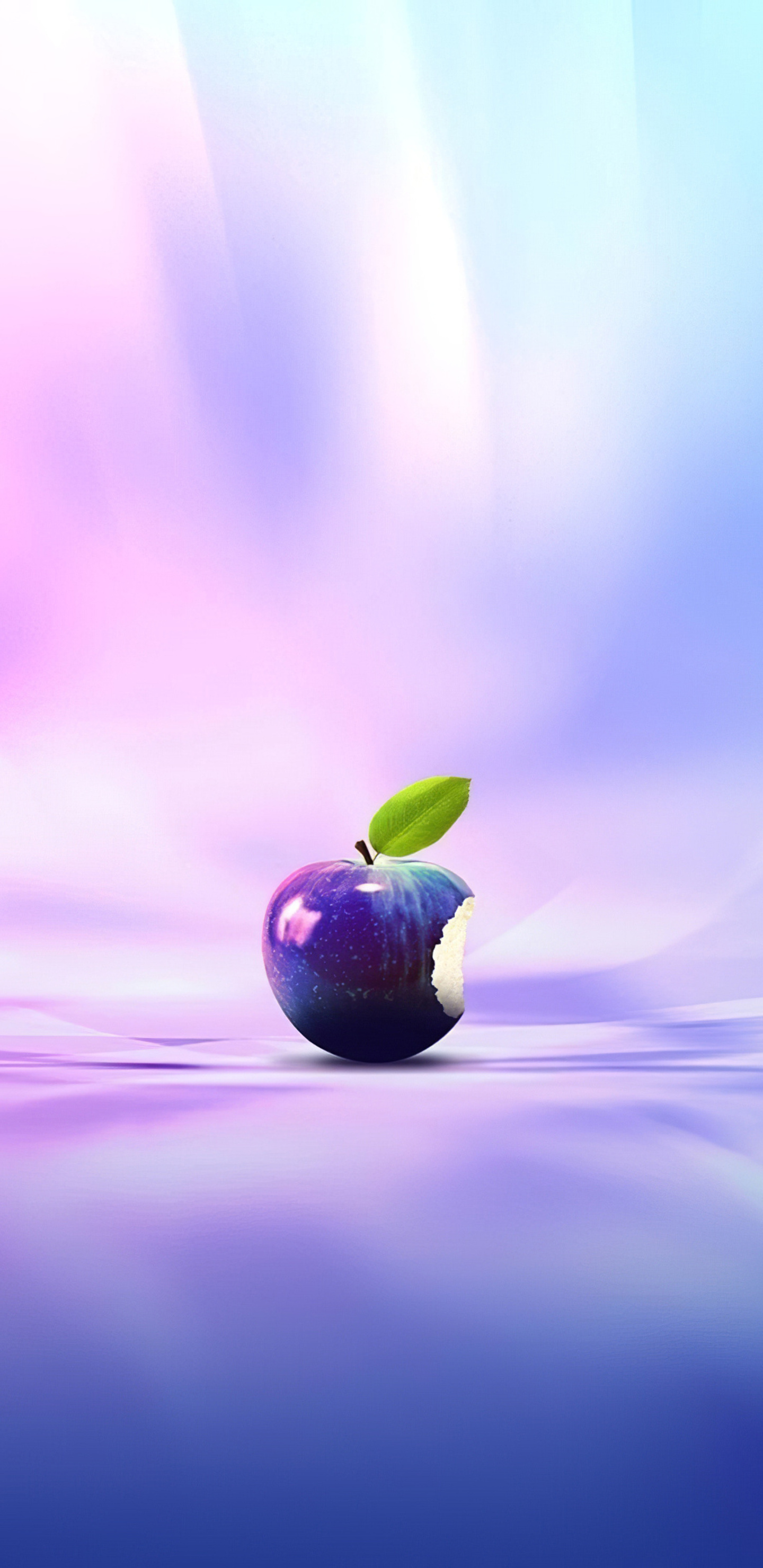 real apple logo 4k f5