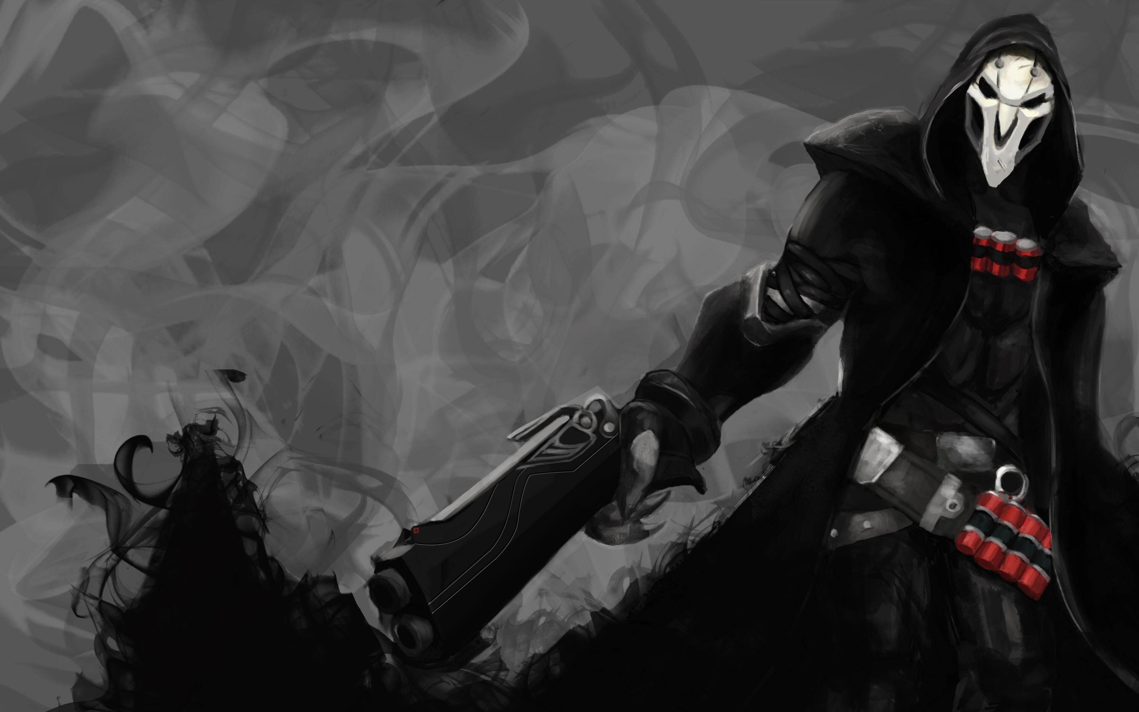 3840x2400 Reaper Overwatch 4k 4k HD 4k Wallpapers, Images ...