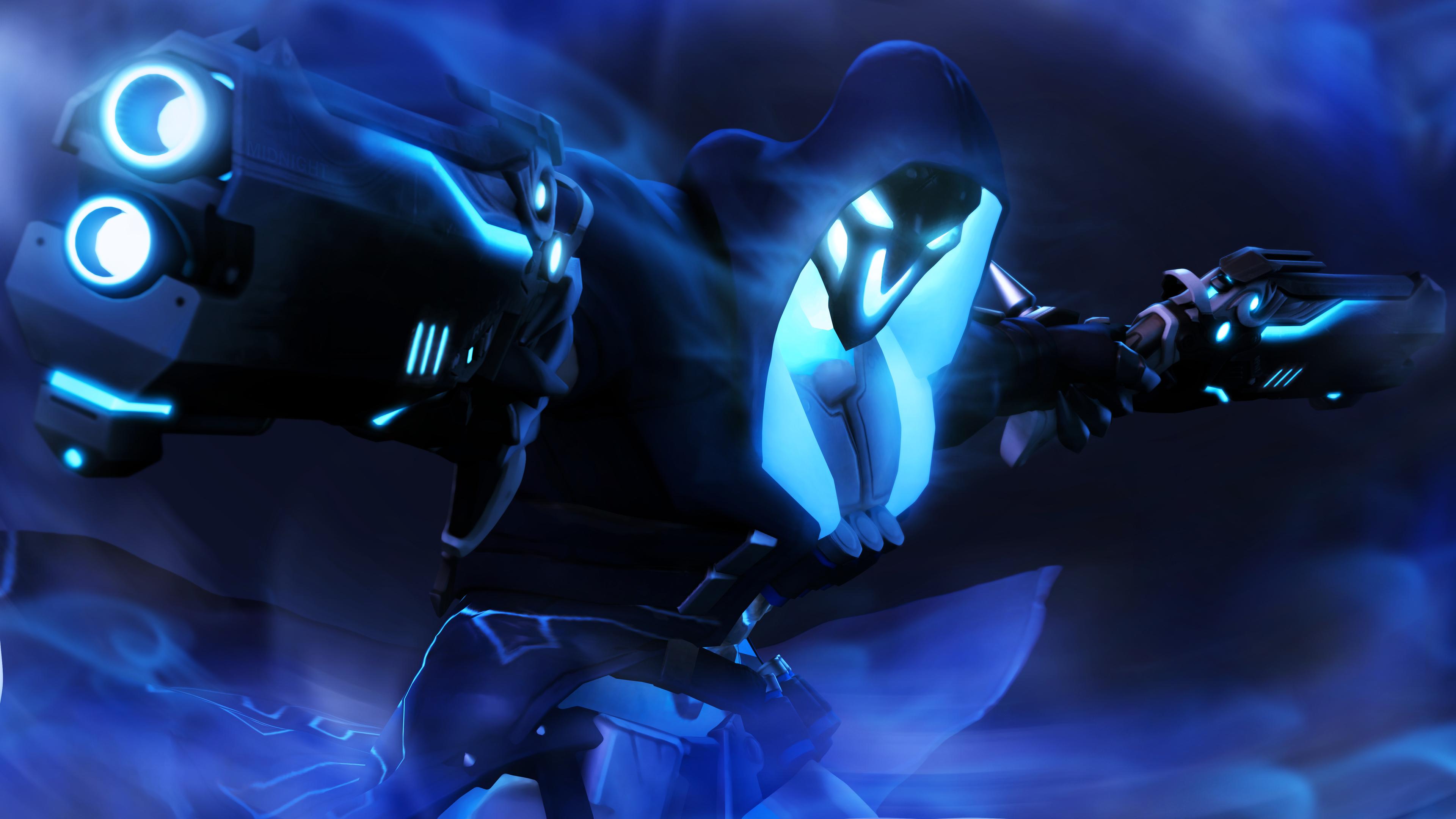 3840x2160 Reaper Overwatch Art 5k 4k HD 4k Wallpapers ...