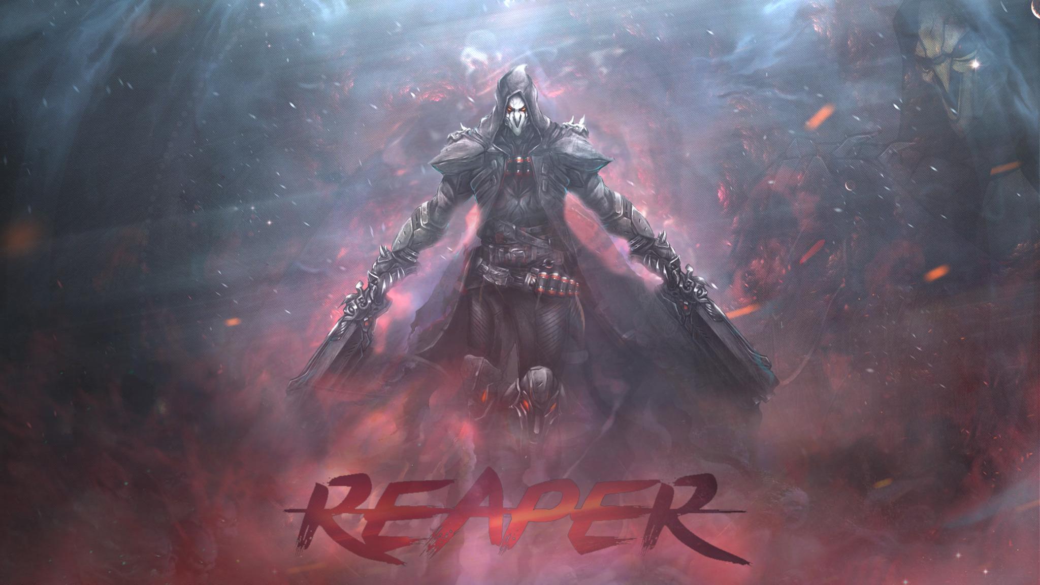 2048x1152 Reaper Overwatch 2048x1152 Resolution HD 4k ...