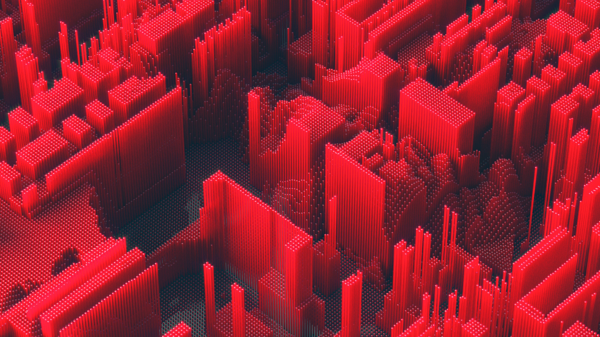 1920x1080 Red Abstract Geometry Laptop Full Hd 1080p Hd 4k