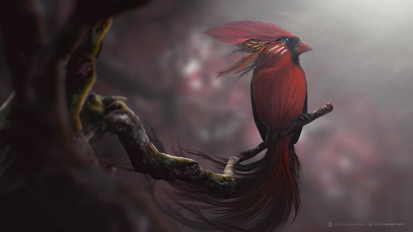 https://hdqwalls.com/download/red-bird-digital-art-image-1366x768.jpg