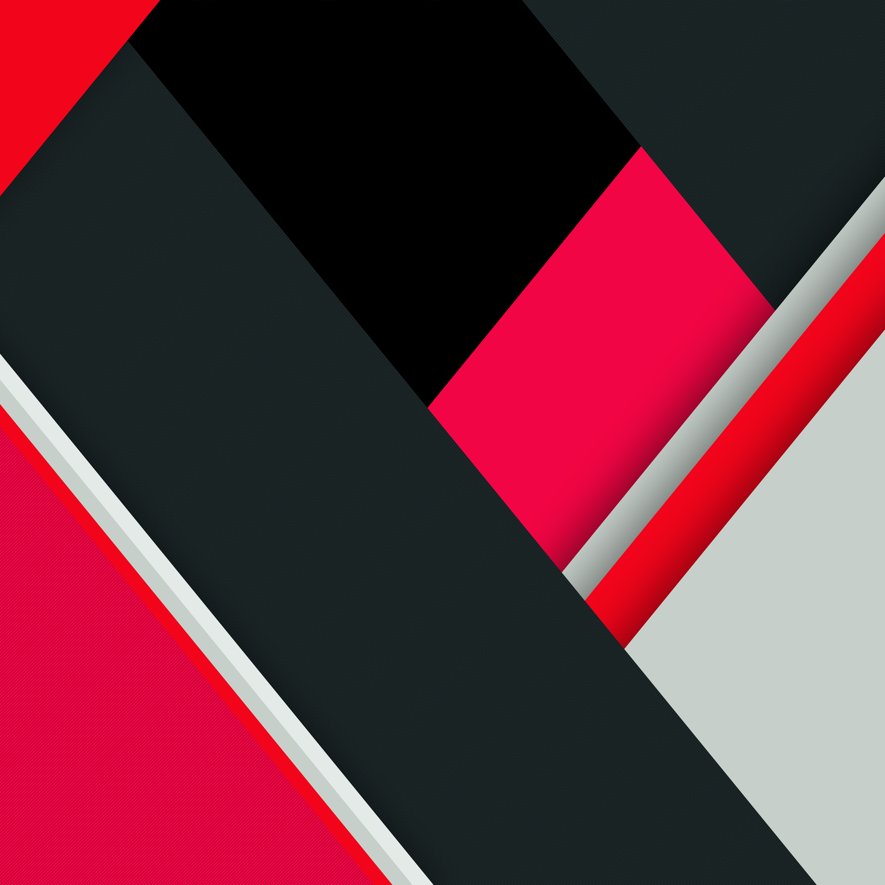 2932x2932 Red Black Minimal Abstract 8k Ipad Pro Retina