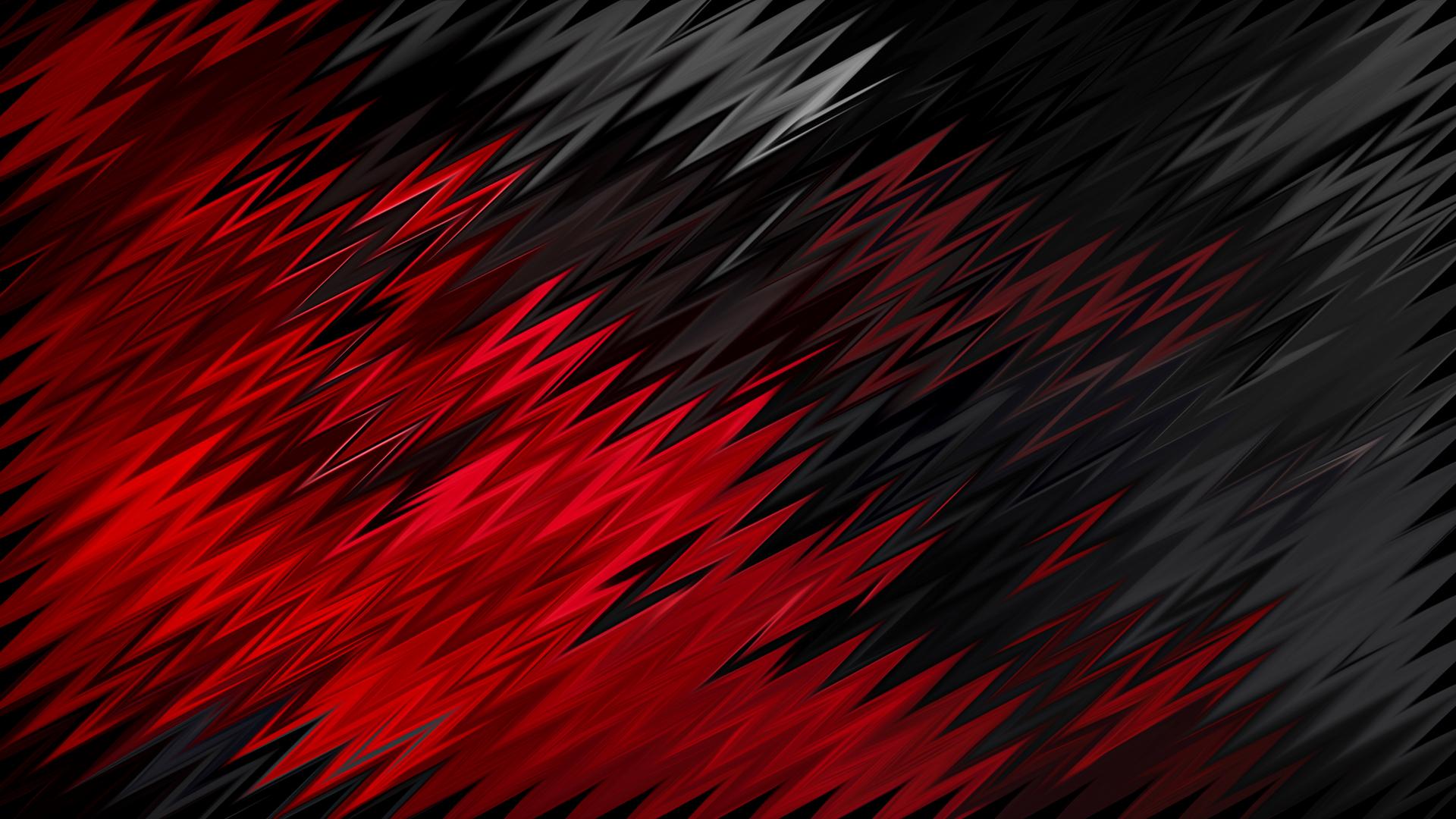 1920x1080 Red Black Sharp Shapes Laptop Full HD 1080P HD ...