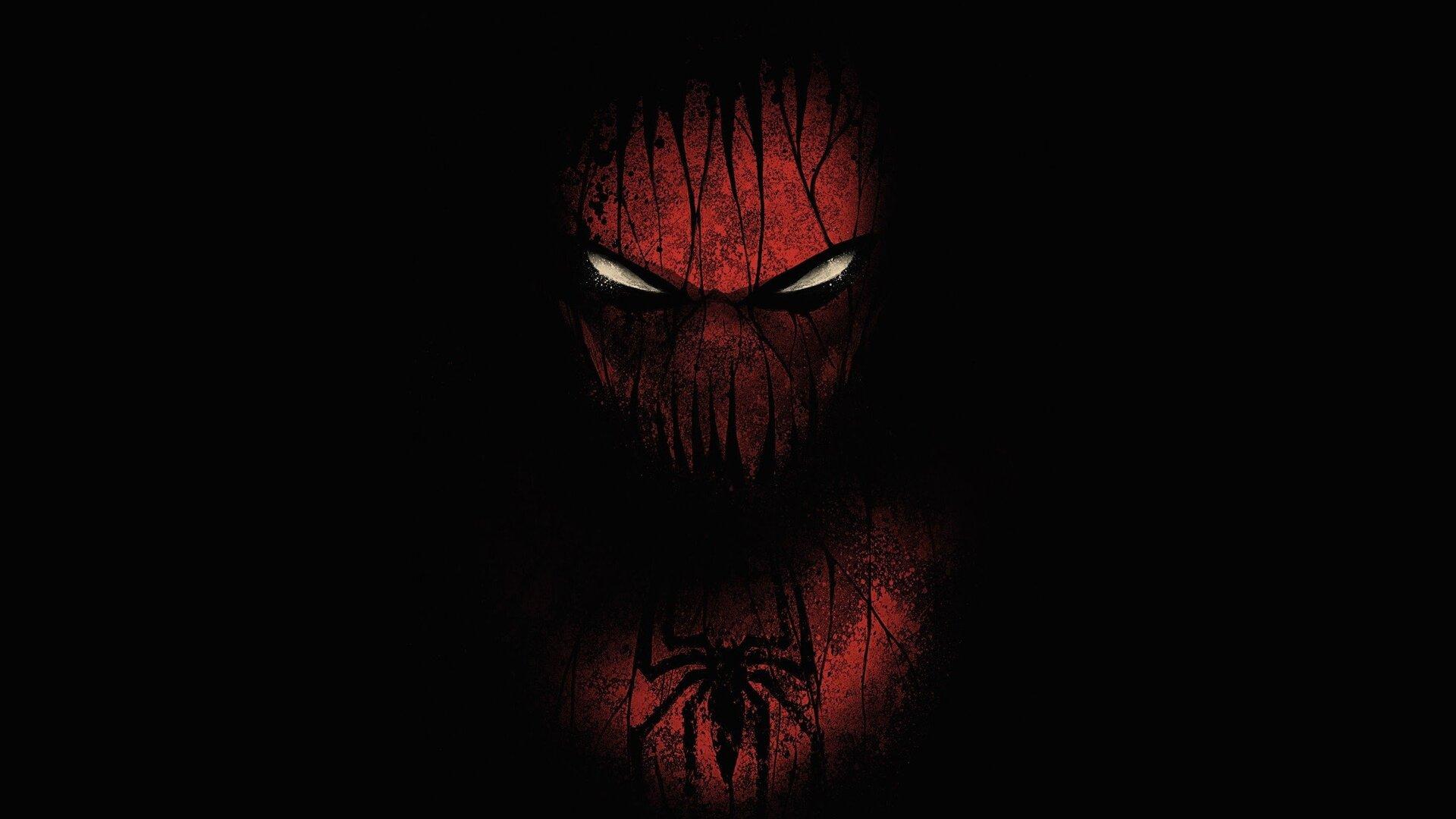 1920x1080 Red Black Spiderman Laptop Full Hd 1080p Hd 4k Wallpapers