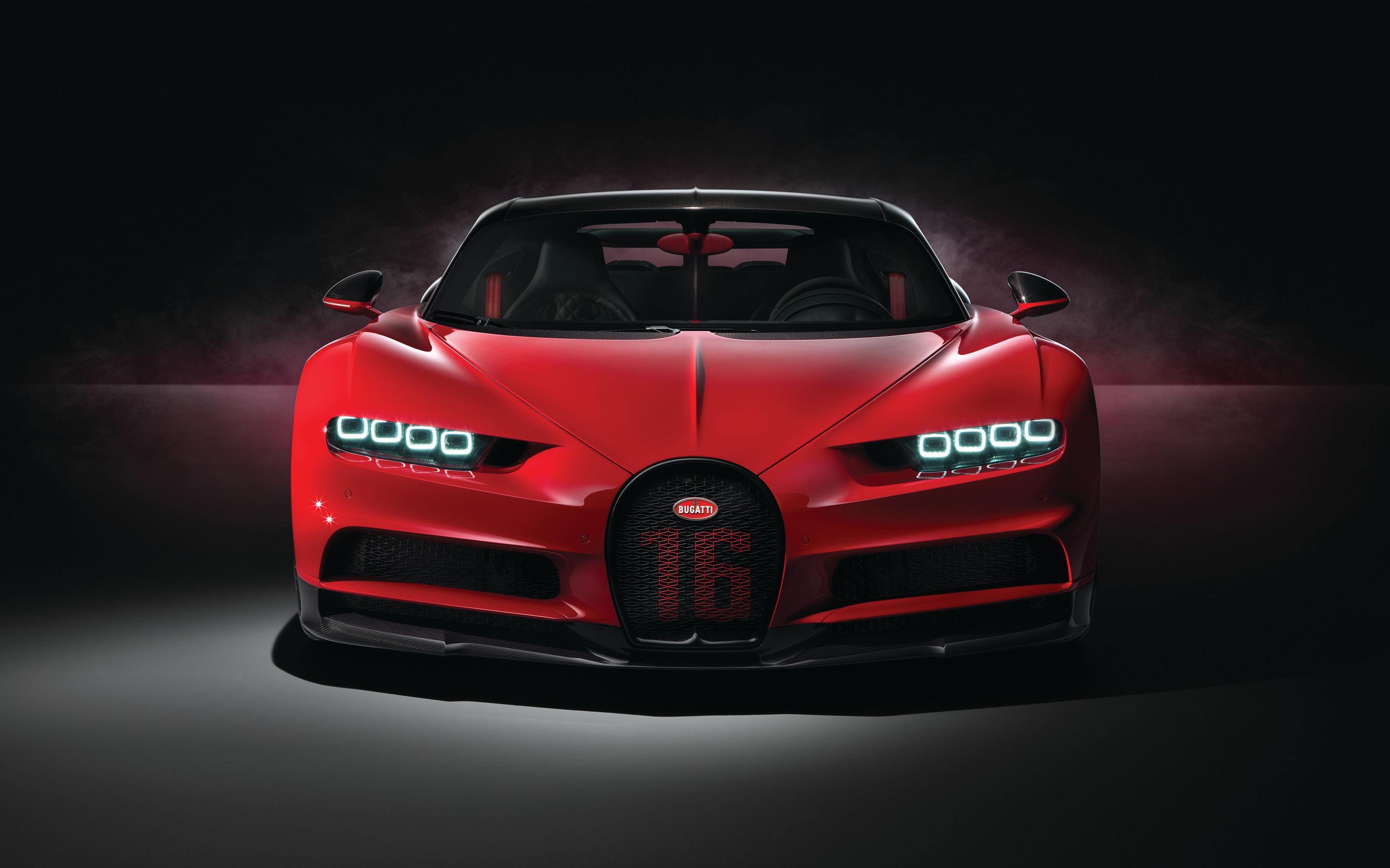 2880x1800 Red Bugatti Chiron Sport 2018 4k Macbook Pro