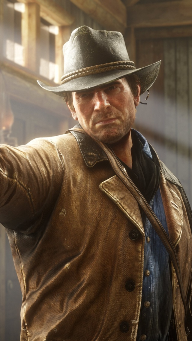 640x1136 Red Dead Redemption 2 4k Game 2018 iPhone 5,5c,5S ...