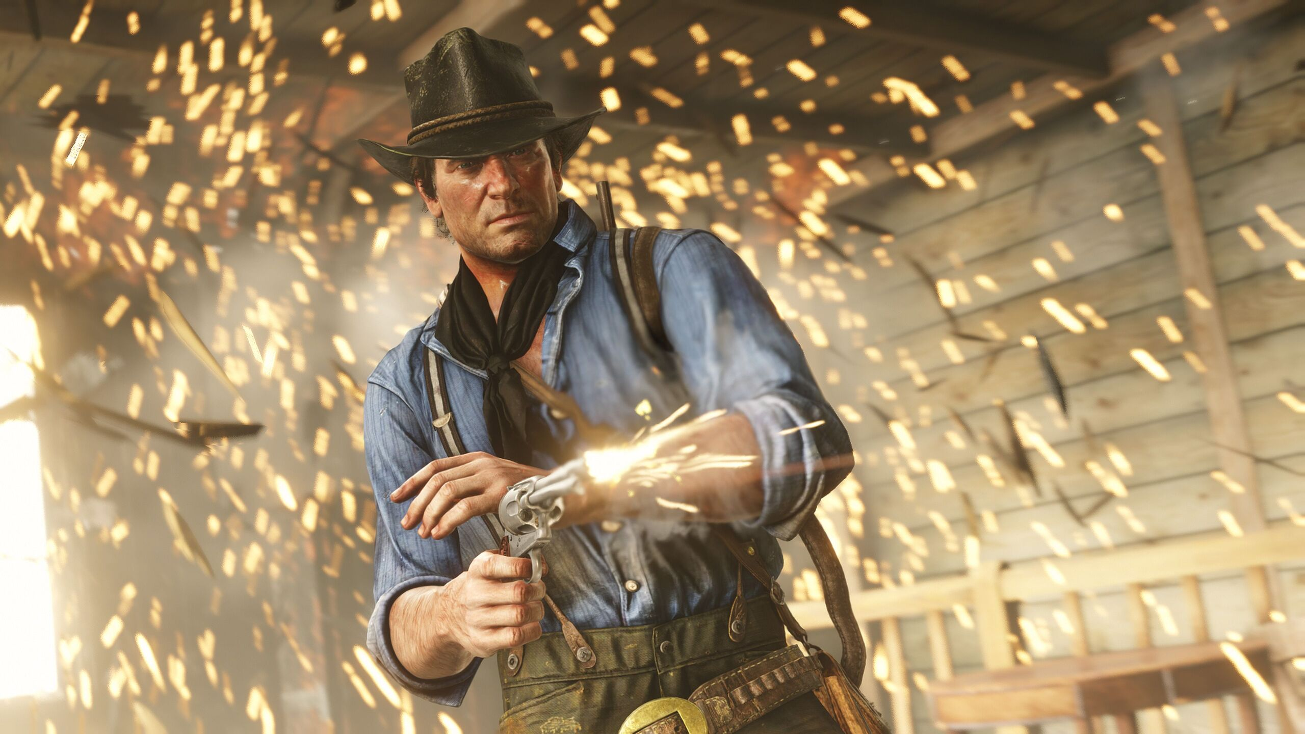 2560x1440 Red Dead Redemption 2 Arthur Morgan 1440P ...