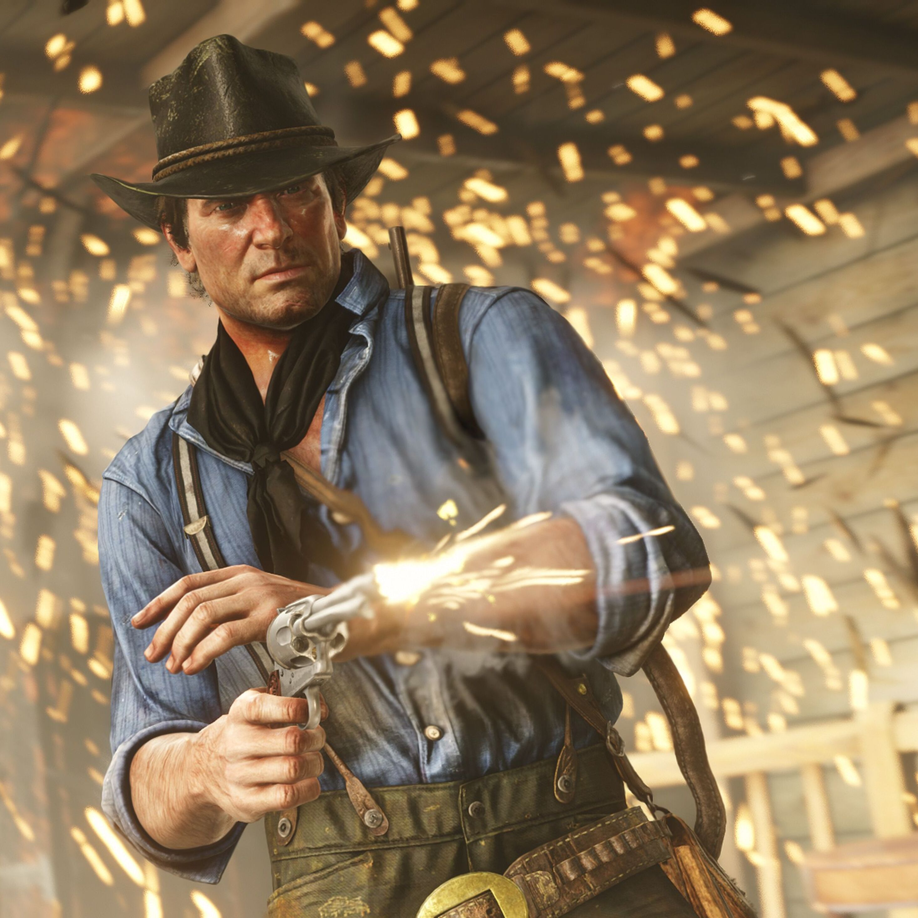 Red Dead Redemption Wallpaper Hd: 2932x2932 Red Dead Redemption 2 Arthur Morgan Ipad Pro