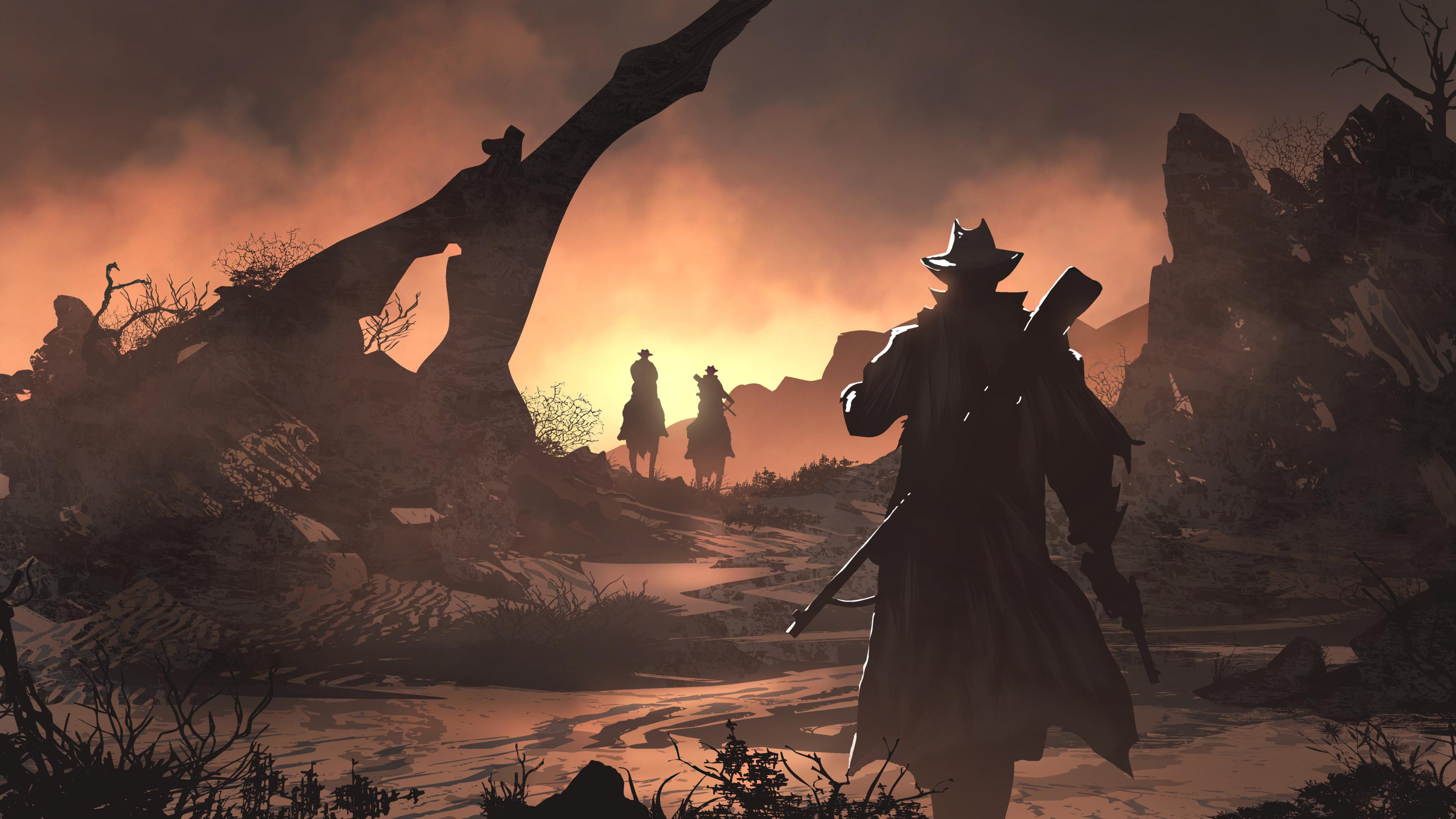 3840x2160 Red Dead Redemption 2 Fan Art 4k 4k HD 4k ...