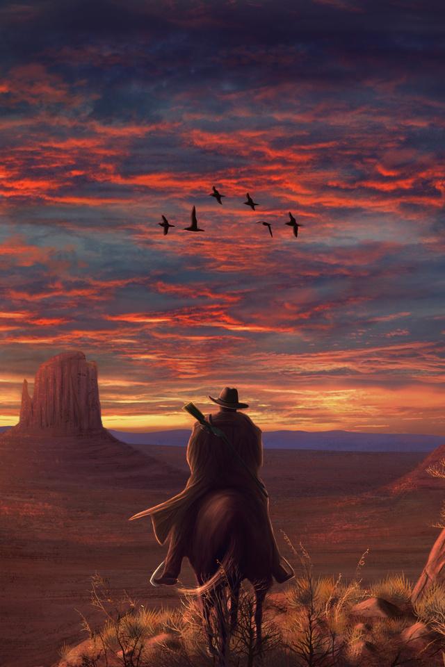 640x960 Red Dead Redemption 2 FanArt 4k iPhone 4, iPhone ...