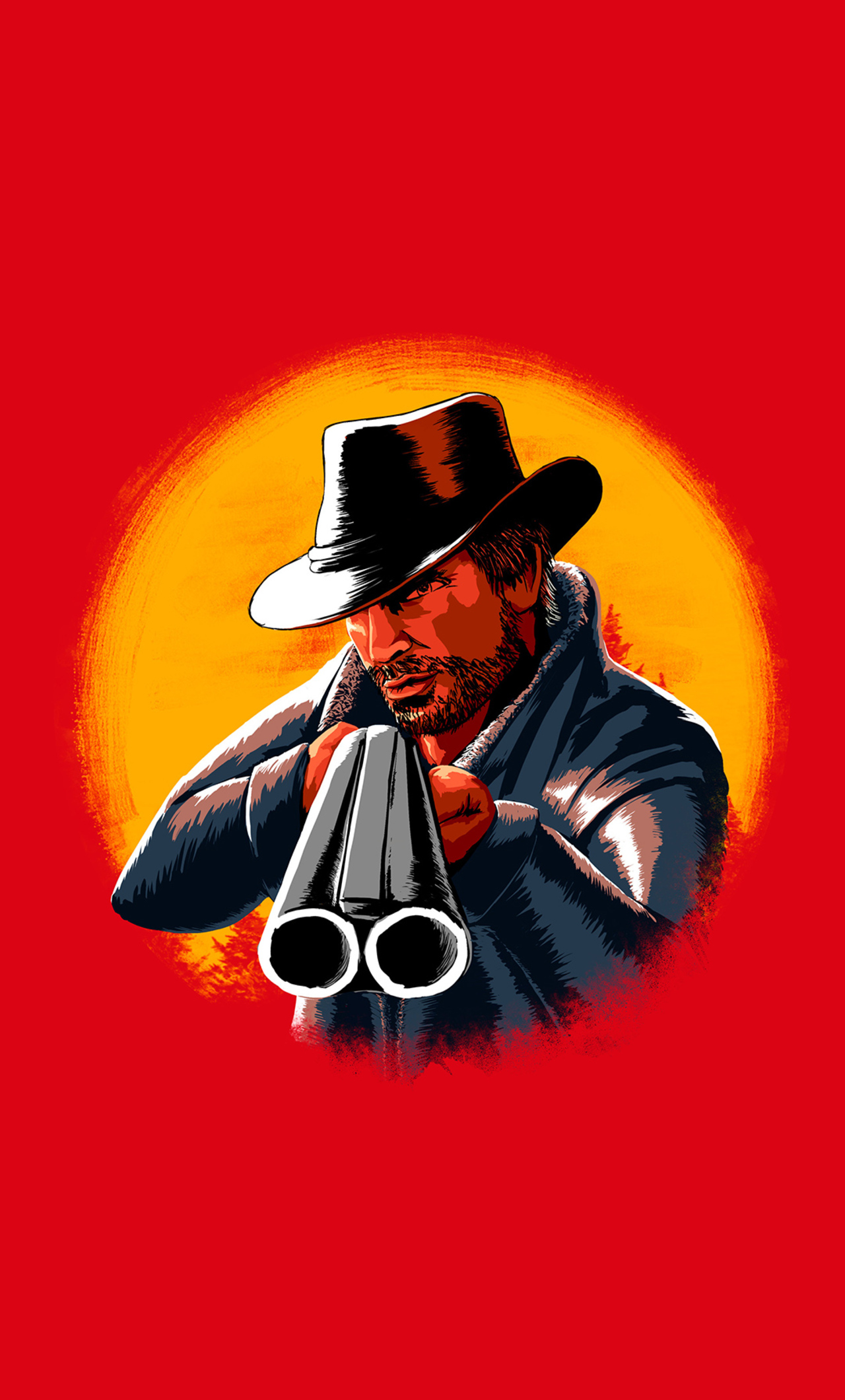 1280x2120 Red Dead Redemption 2 Illustration Iphone 6 Hd 4k