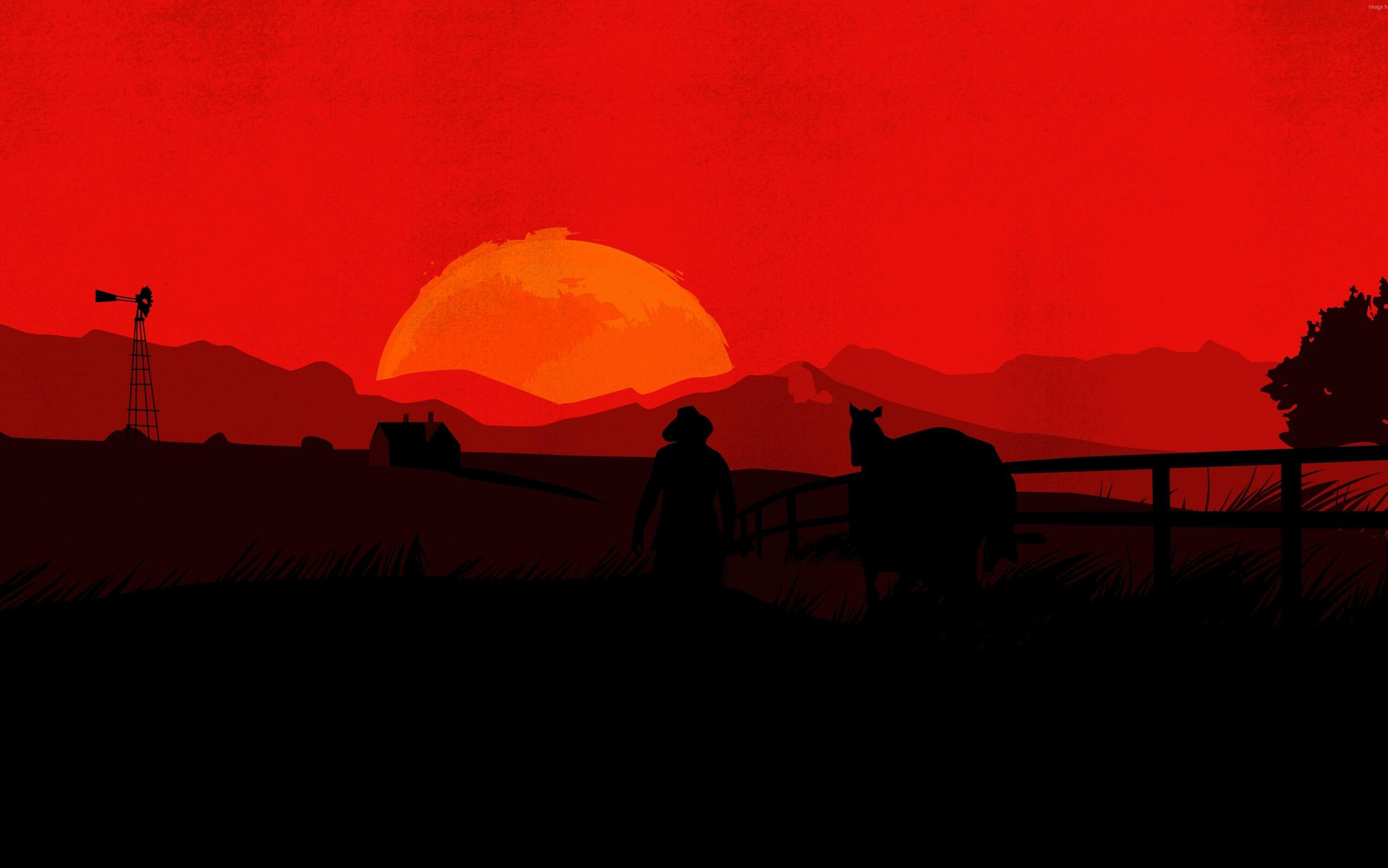 2560x1600 Red Dead Redemption 2 Minimal 4k 2560x1600 Resolution Hd