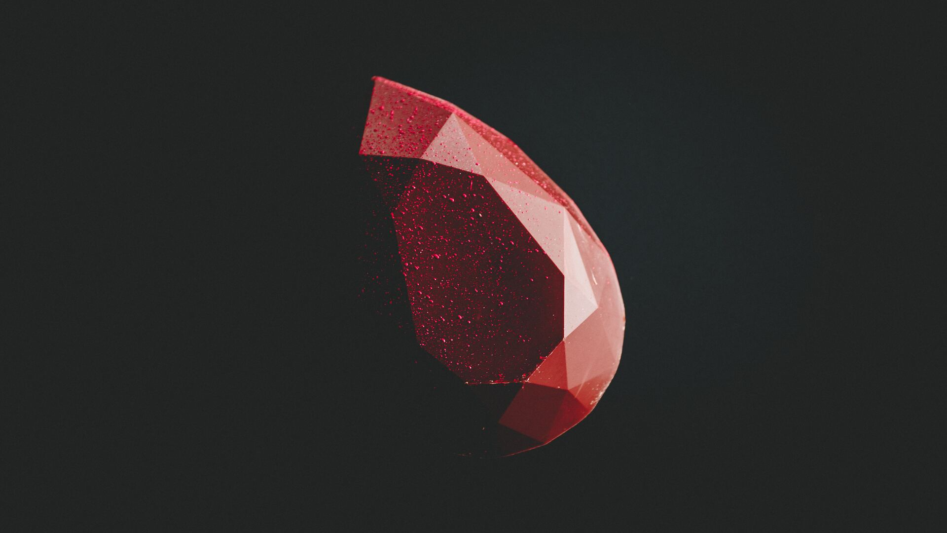 1920x1080 Red Diamond Minimal Dark 5k Laptop Full Hd 1080p Hd 4k
