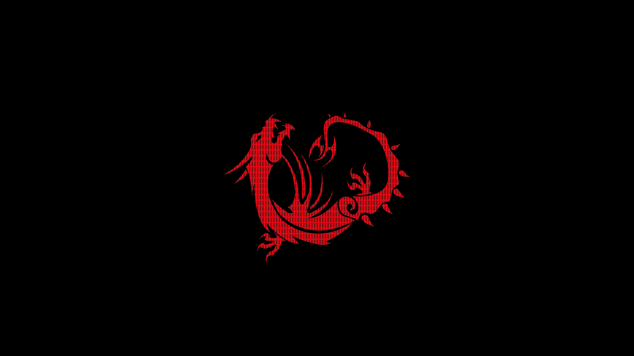 2048x1152 Red Dragon Black Minimal 4k 2048x1152 Resolution Hd 4k