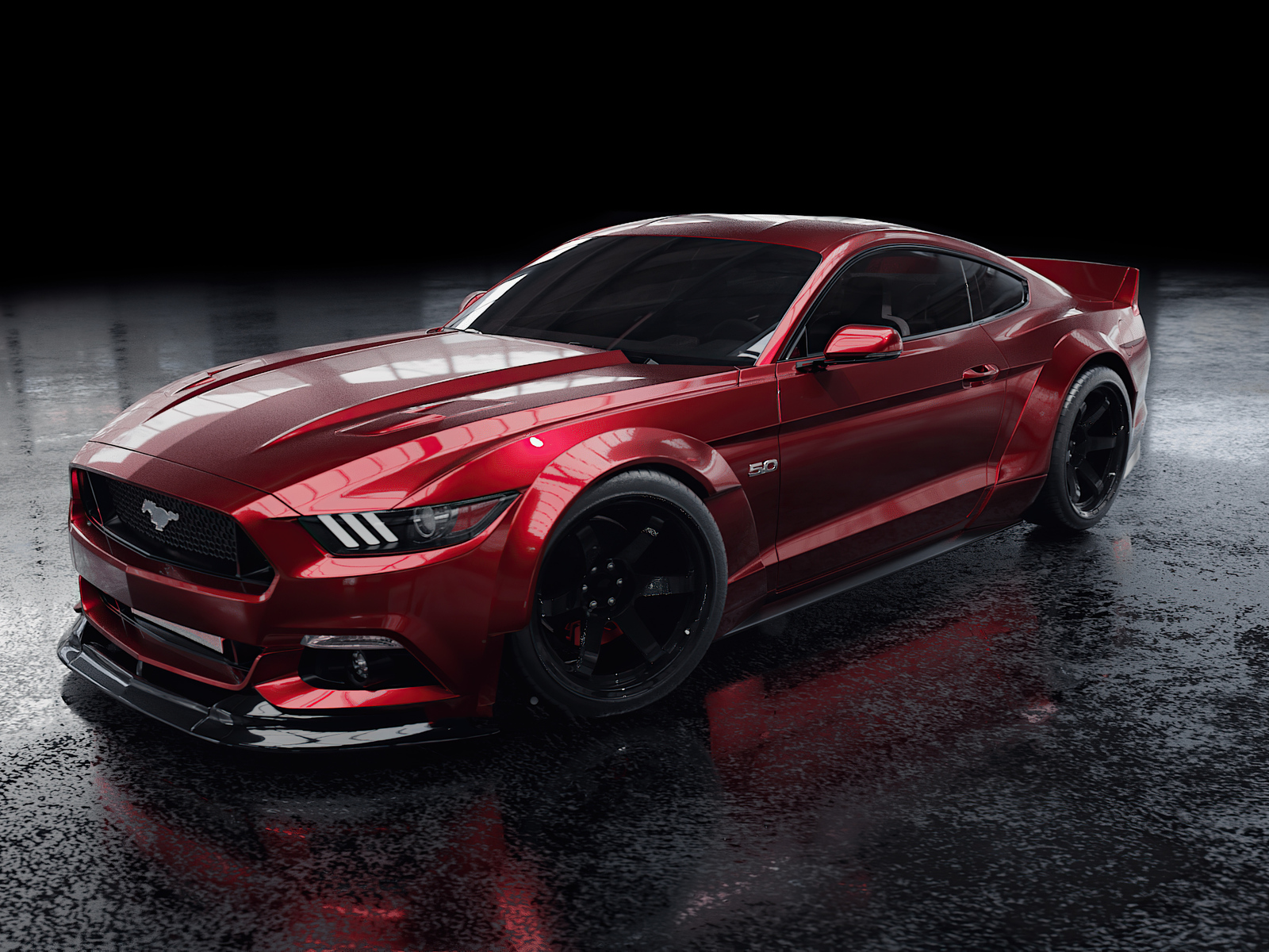 1600x1200 Red Ford Mustang 4k 1600x1200 Resolution HD 4k ...