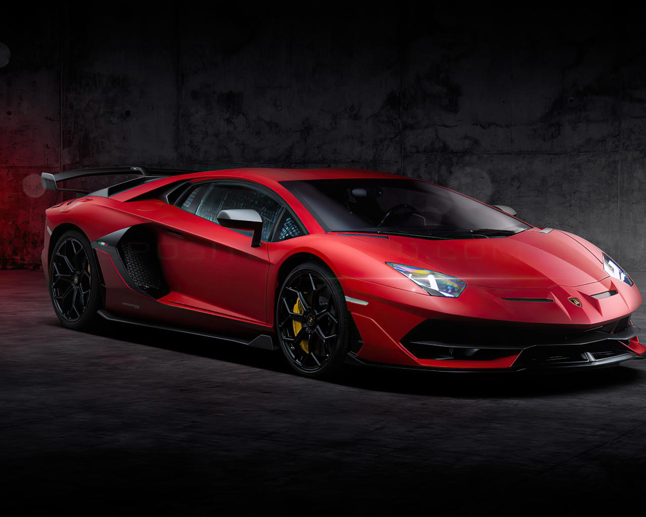 1280x1024 Red Lamborghini Aventador New 1280x1024 ...