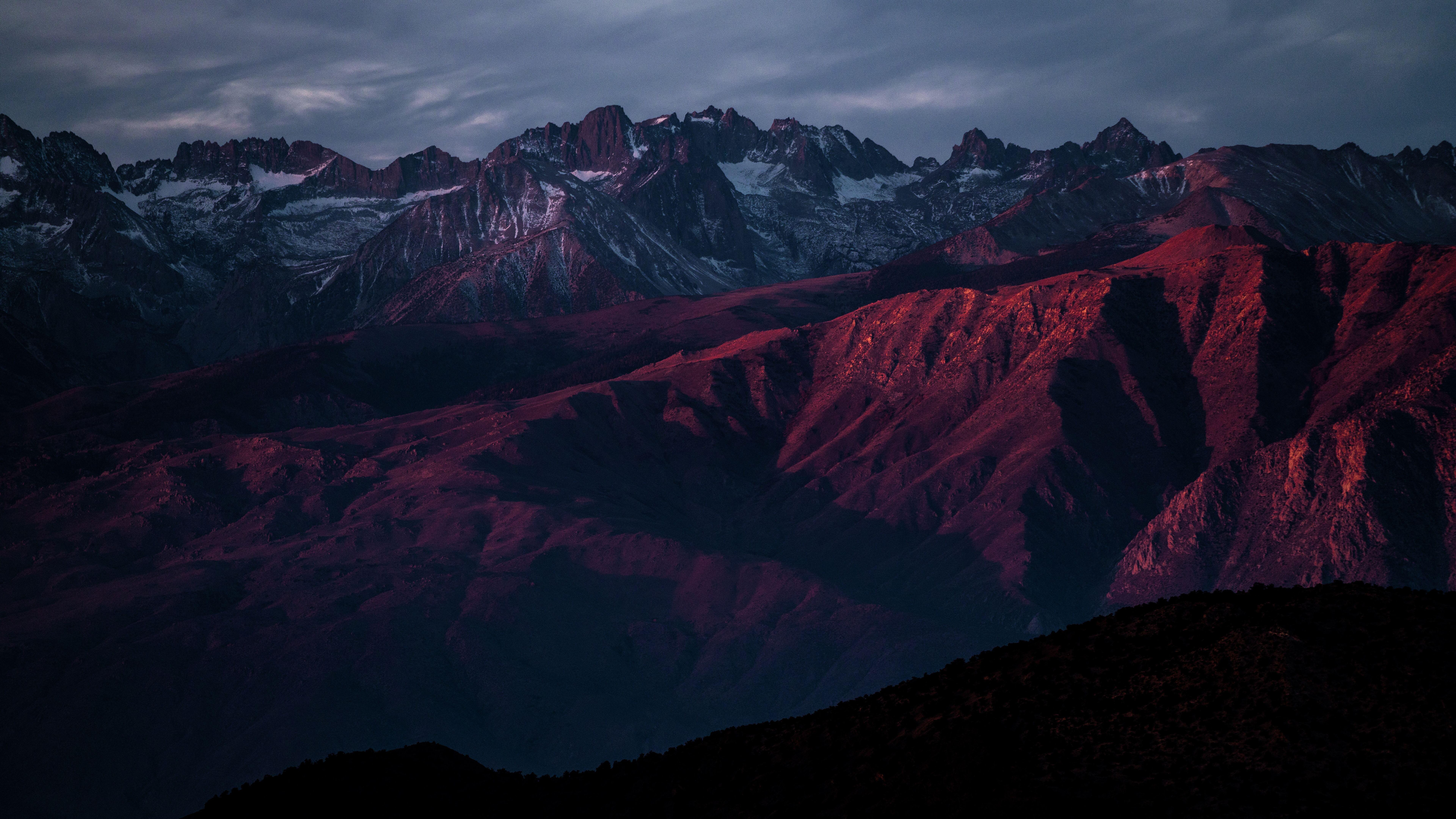 7680x4320 Red Mountain Range Highlands 8k 8k Hd 4k
