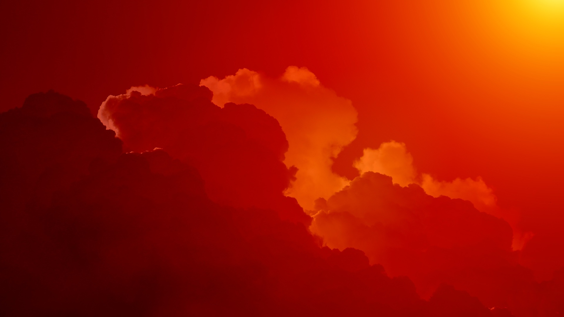 1920x1080 Red Sky Laptop Full HD 1080P HD 4k Wallpapers ...