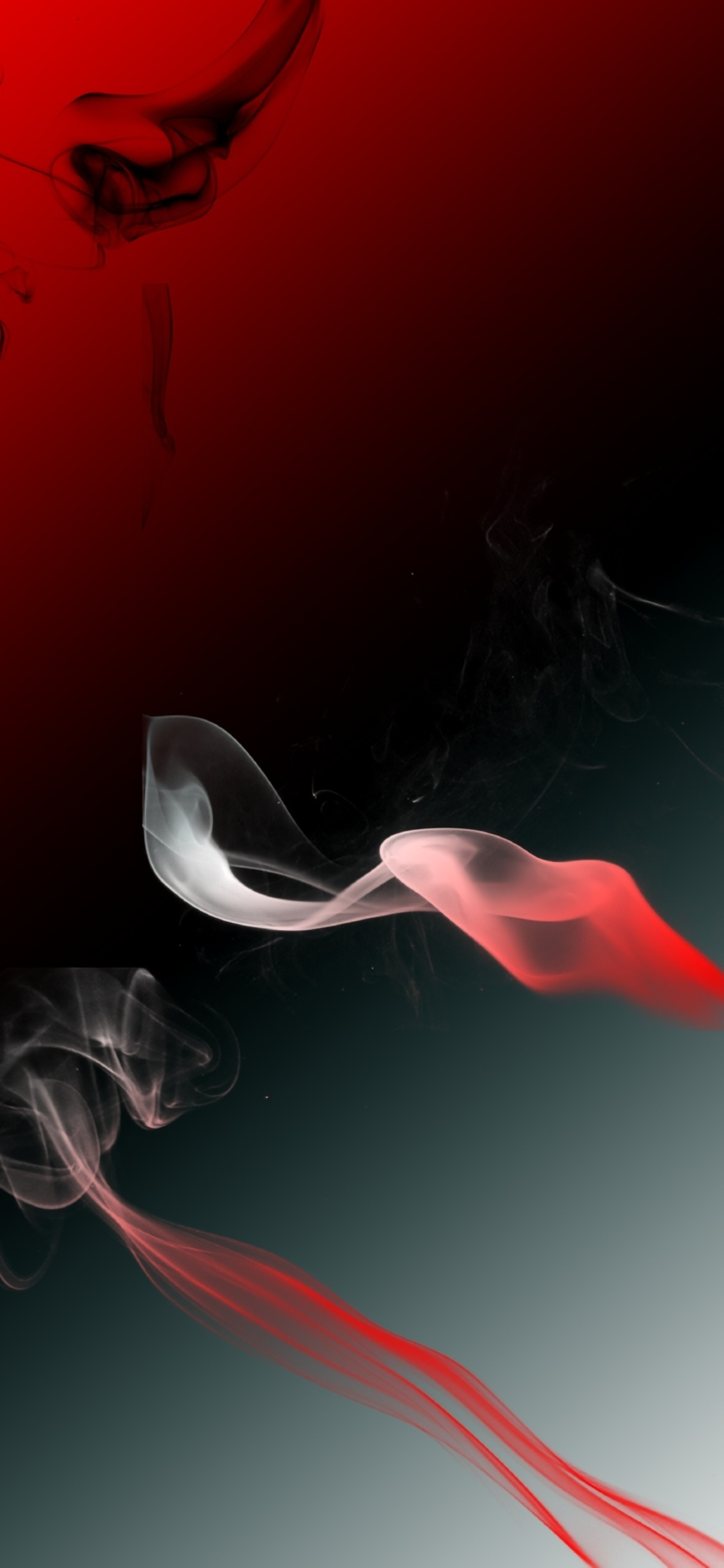 1125x2436 Red Smoke Digital Art 4k Iphone Xs Iphone 10