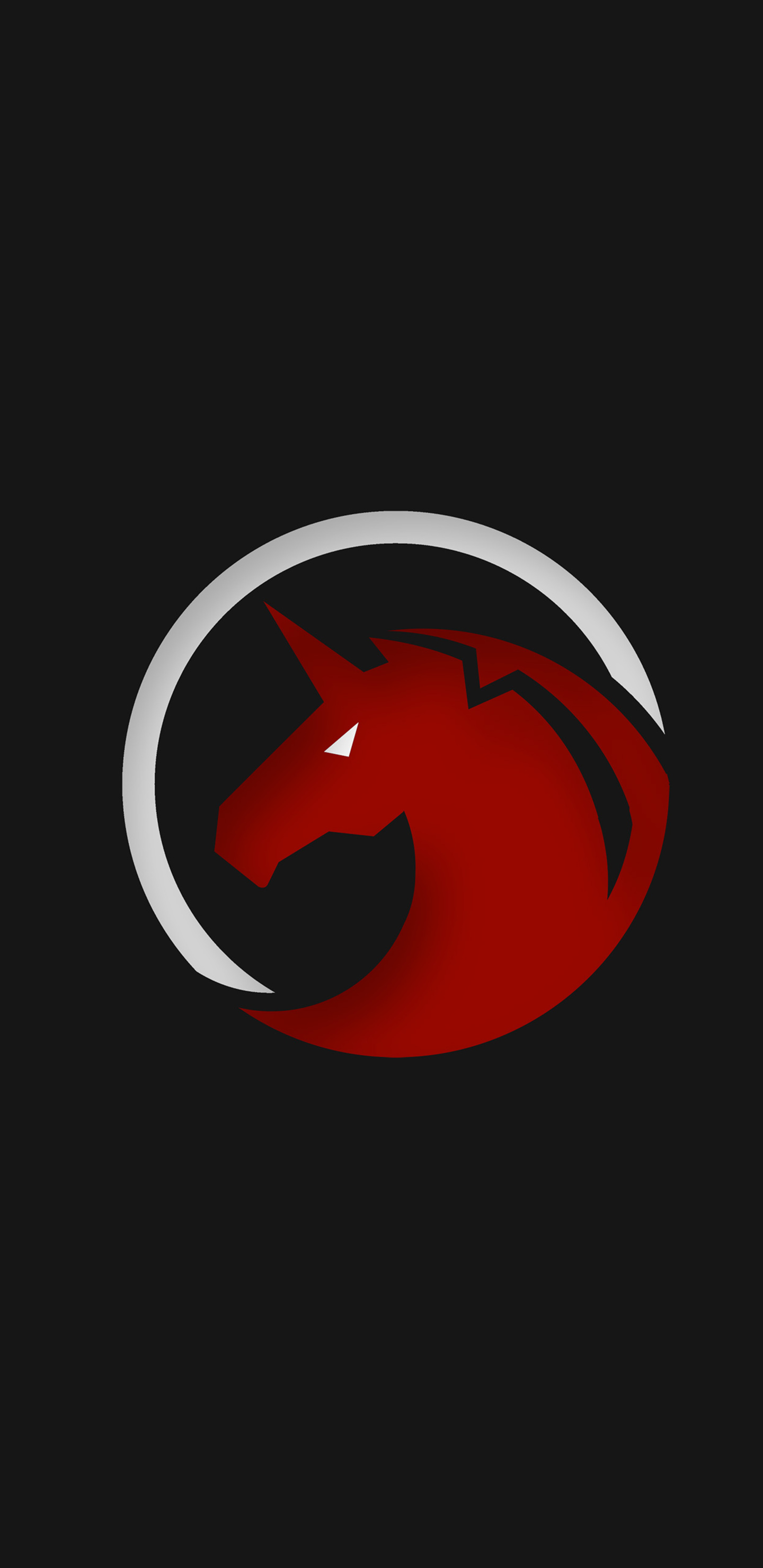 1440x2960 Red Unicorn Logo 4k Samsung Galaxy Note 9 8 S9 S8 S8 Qhd Hd 4k Wallpapers Images Backgrounds Photos And Pictures