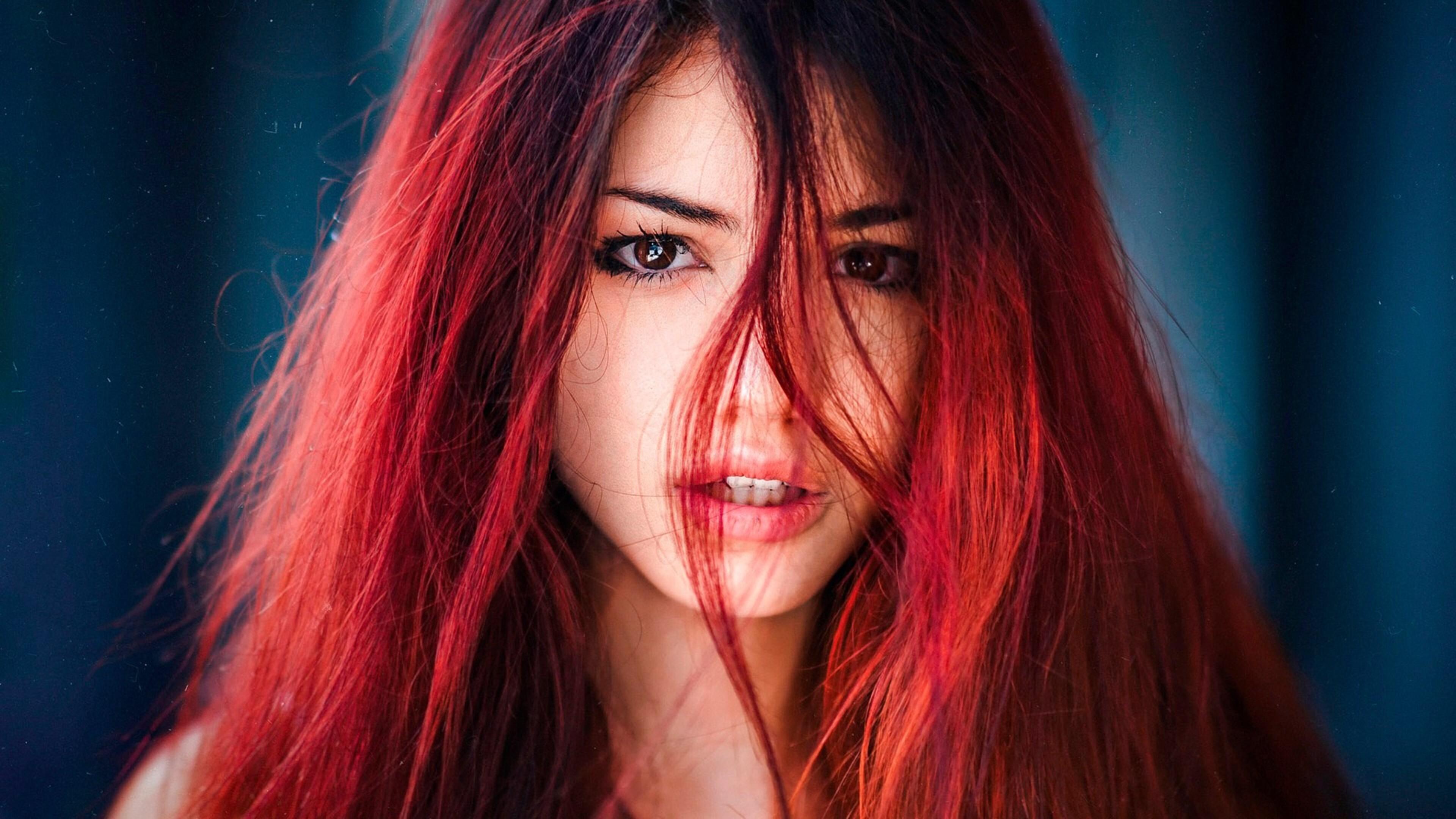 3840X2160 Redhead Women 4K Hd 4K Wallpapers, Images -5092
