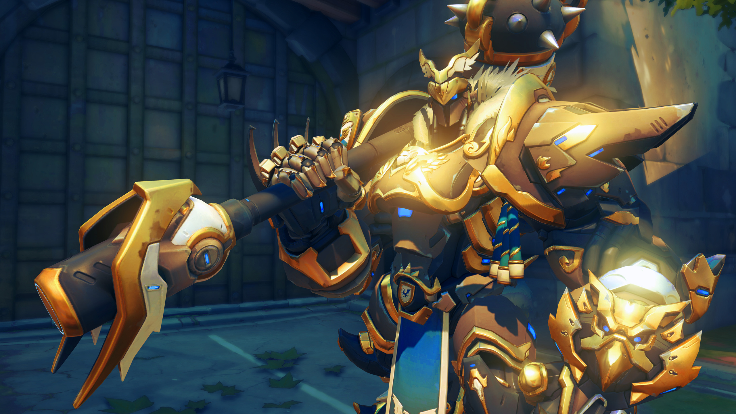2560x1440 Reinhardt In Overwatch 1440p Resolution Hd 4k Wallpapers Images Backgrounds Photos And Pictures