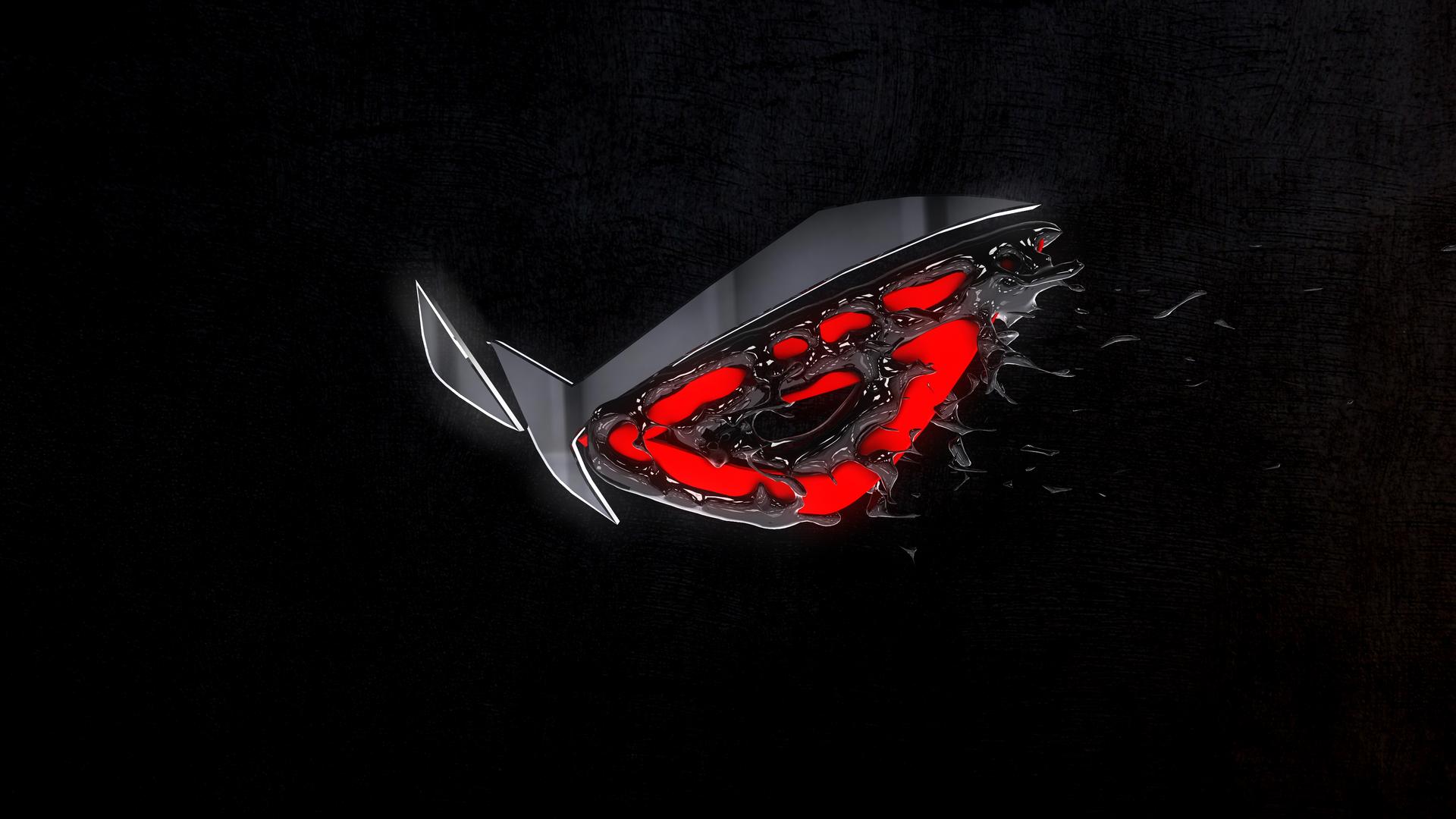 Republic Of Gamers 3d Logo 4k Oe