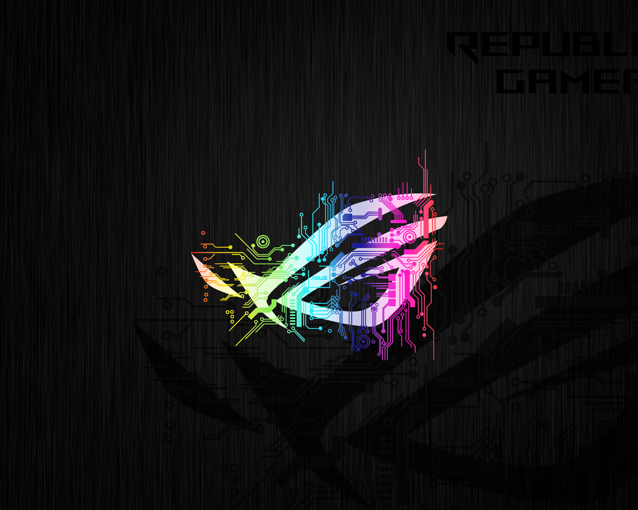 1280x1024 Republic Of Gamers Abstract Logo 4k 1280x1024