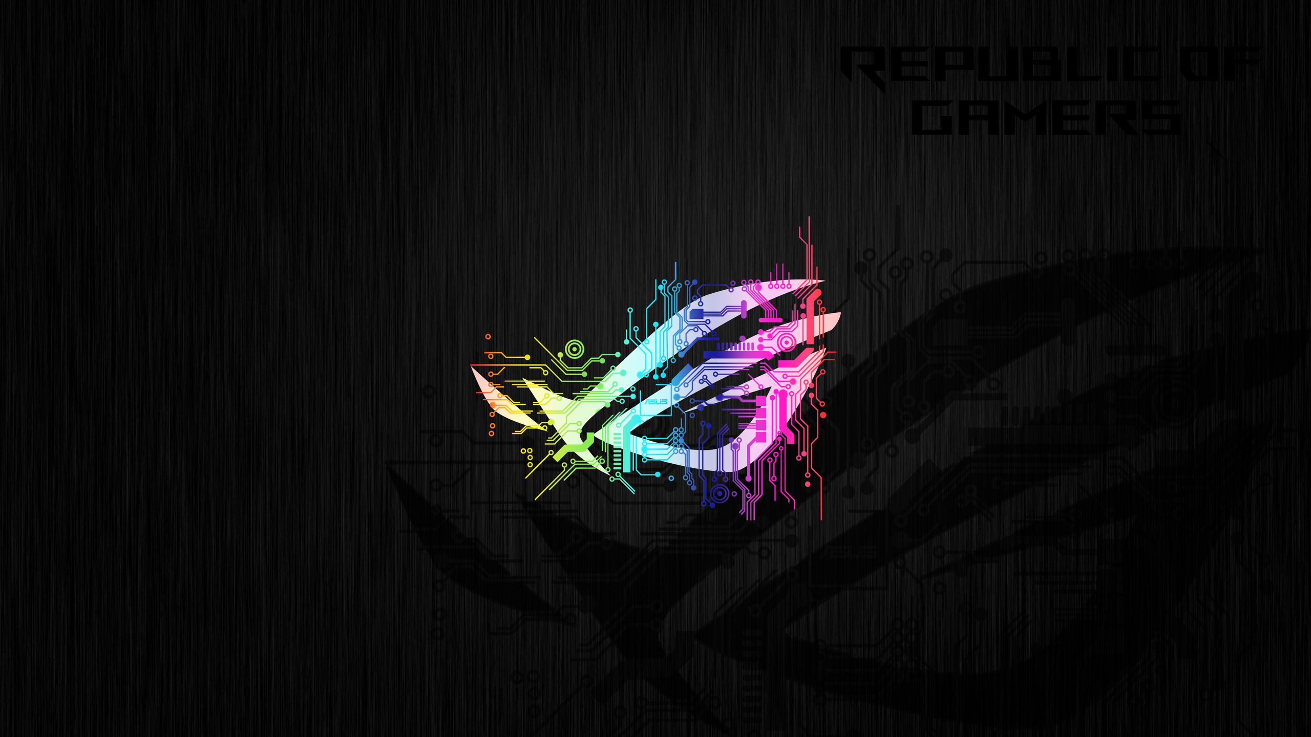 2560x1440 Republic Of Gamers Abstract Logo 4k 1440p