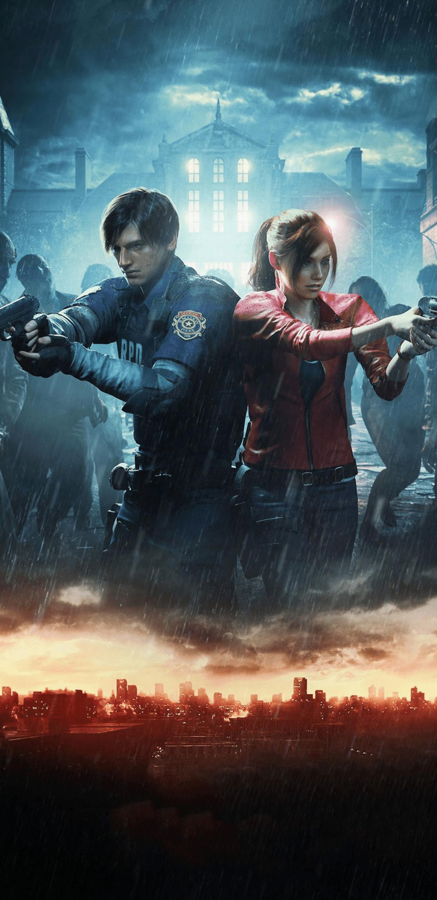 1440x2960 Resident Evil 2 Official Art 2019 Samsung Galaxy ...