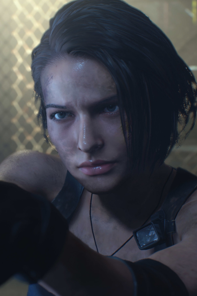 640x960 Resident Evil 3 Jill Valentine 2020 4k Iphone 4 Iphone 4s
