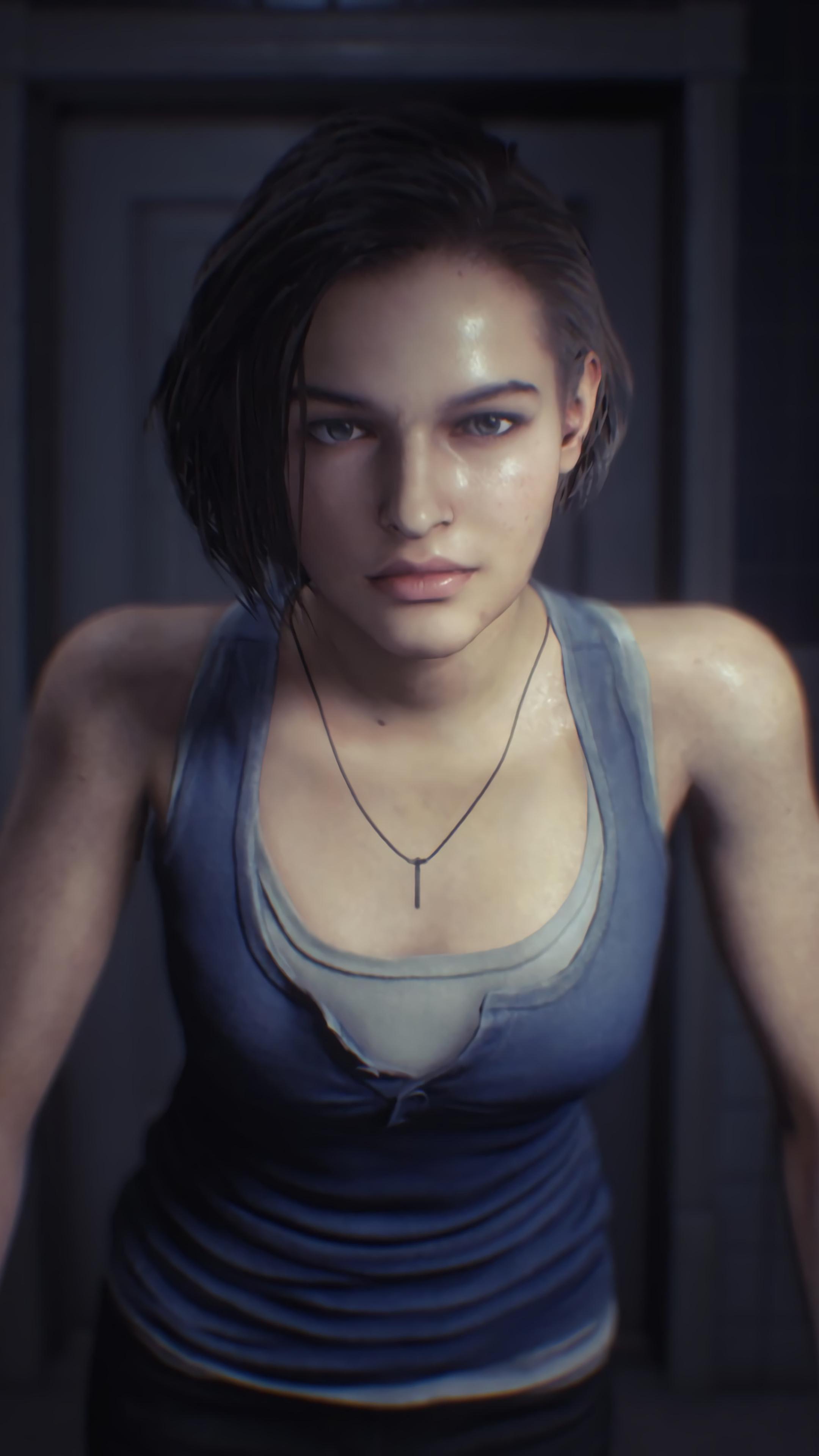 2160x3840 Resident Evil 3 Jill Valentine 4k Sony Xperia X Xz