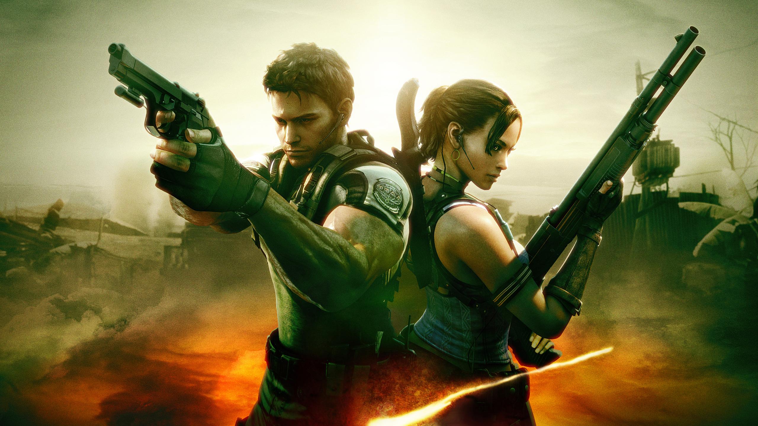 2560x1440 Resident Evil 5 4k 1440p Resolution Hd 4k Wallpapers