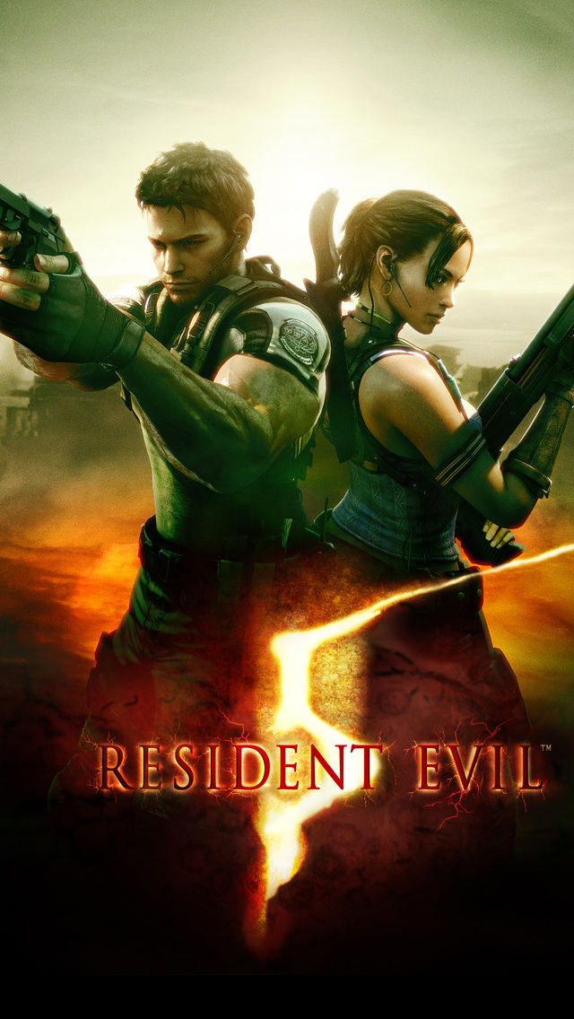 640x1136 Resident Evil 5 4k Iphone 5 5c 5s Se Ipod Touch Hd 4k