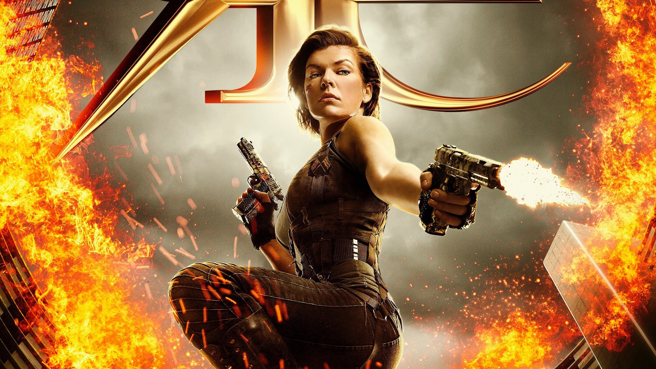 Resident Evil The Final Chapter 2016 Movie Hd Wallpaper: 2560x1440 Resident Evil 6 The Final Chapter 1440P