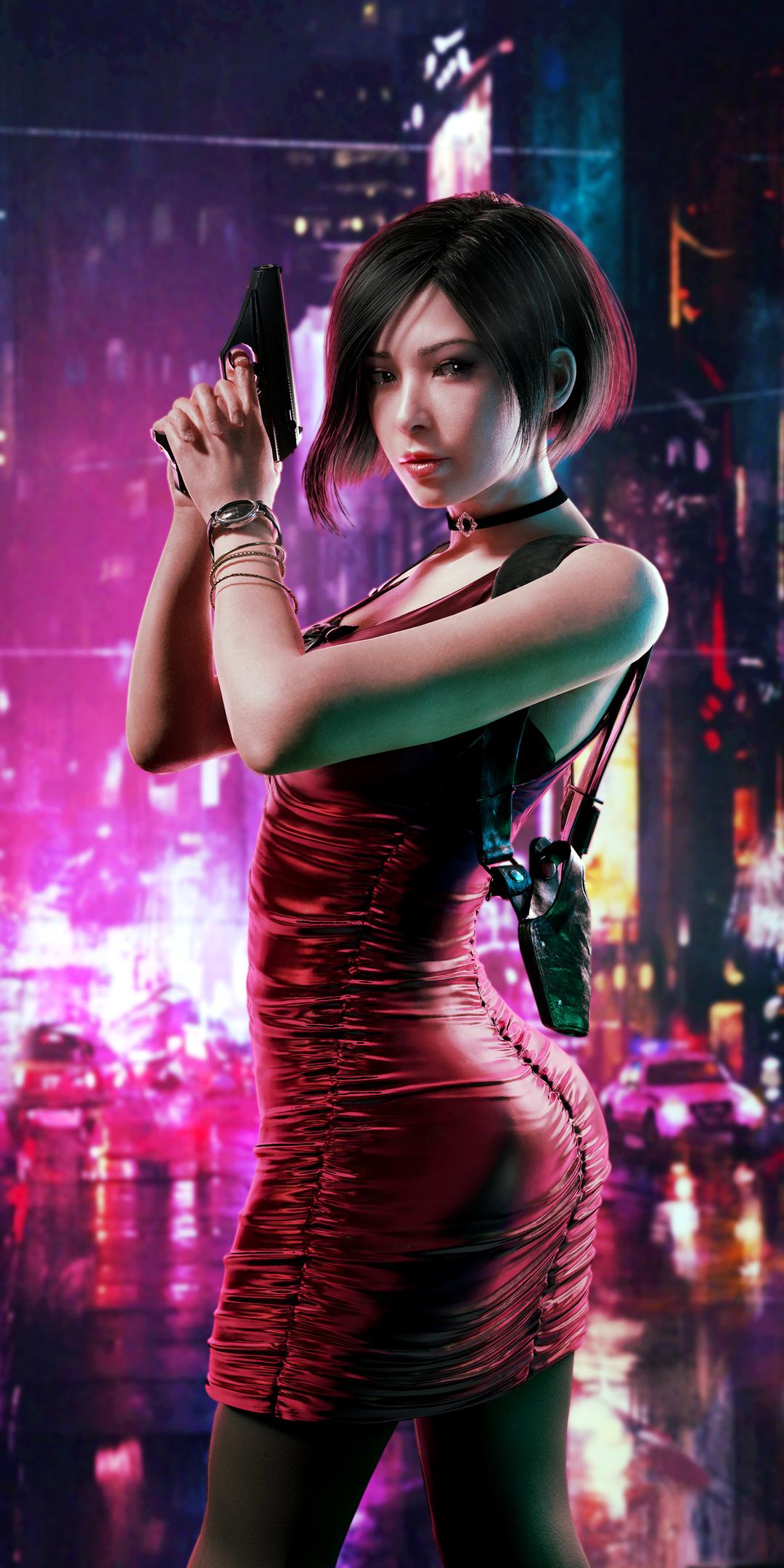 1080x2160 Resident Evil Ada Wong 2020 One Plus 5T,Honor 7x ...