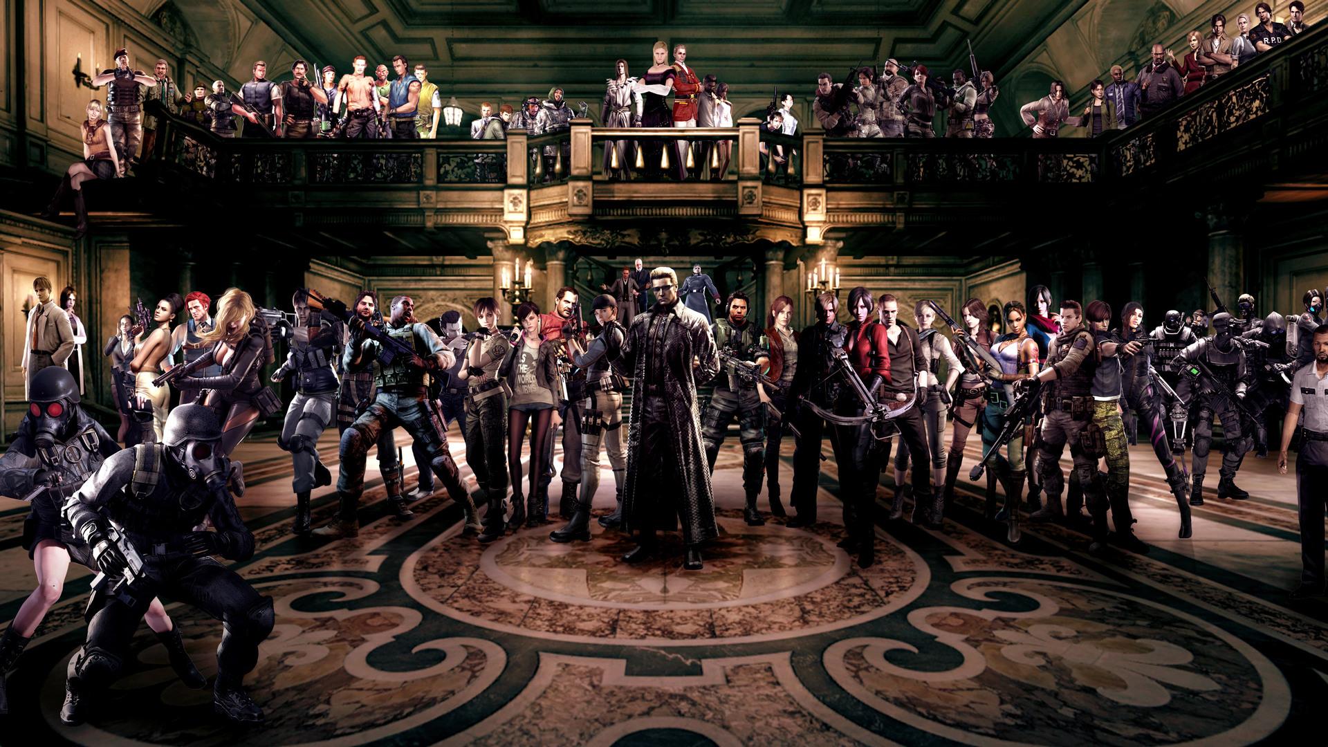 1920x1080 Resident Evil Characters Laptop Full Hd 1080p Hd 4k