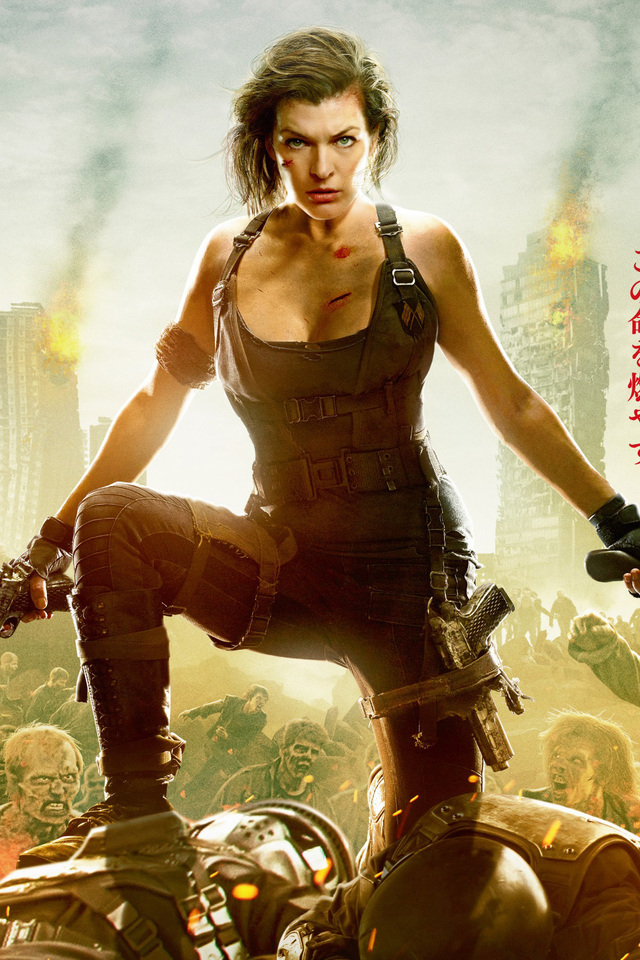 640x960 resident evil the final chapter 2016 movie iphone 4 iphone 4s hd 4k wallpapers images - Resident evil final chapter 4k ...
