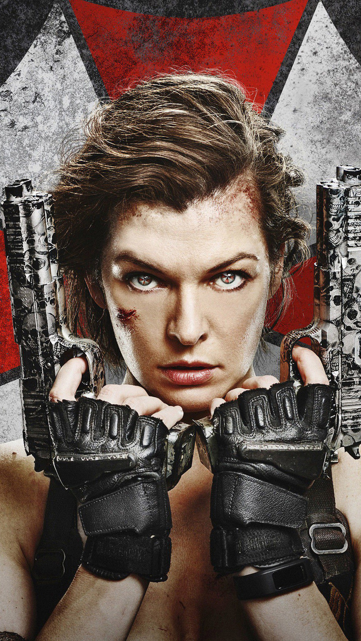 720x1280 resident evil the final chapter 4k moto g x xperia z1 z3 compact galaxy s3 note ii - Resident evil final chapter 4k ...