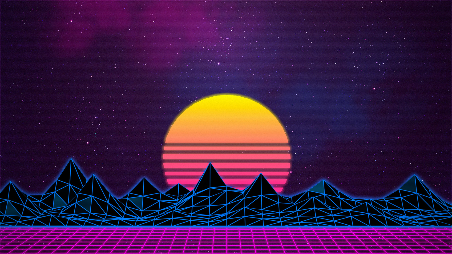 1920x1080 Retrowave Laptop Full Hd 1080p Hd 4k Wallpapers