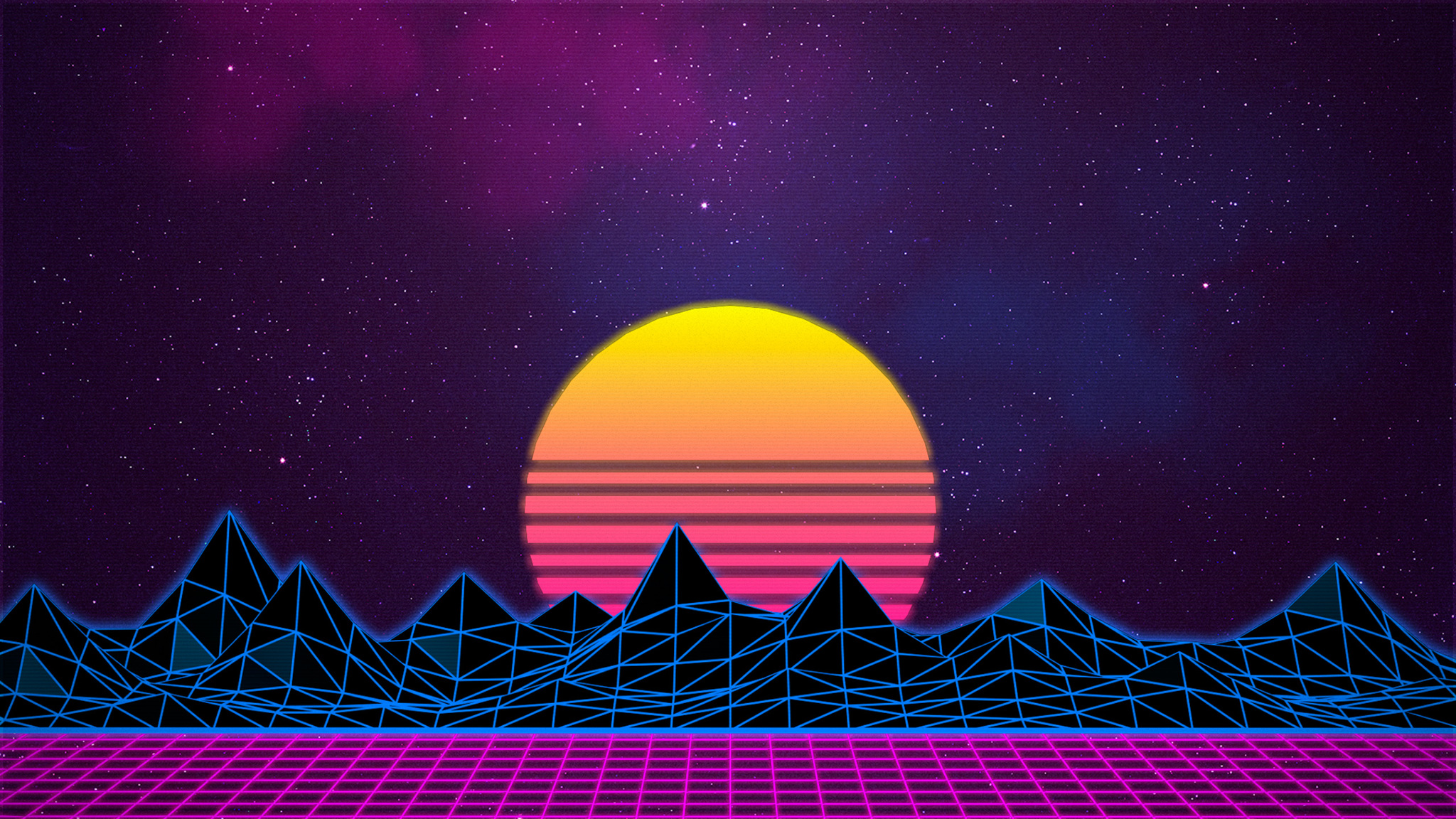 2048x1152 Retrowave 2048x1152 Resolution HD 4k Wallpapers