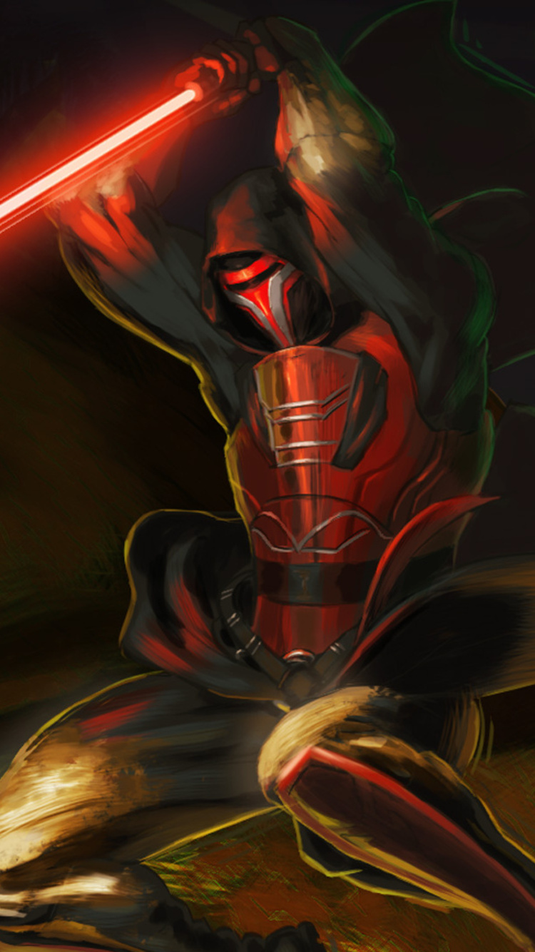 750x1334 Revan With Lightsaber Star Wars Iphone 6 Iphone 6s Iphone 7 Hd 4k Wallpapers Images Backgrounds Photos And Pictures