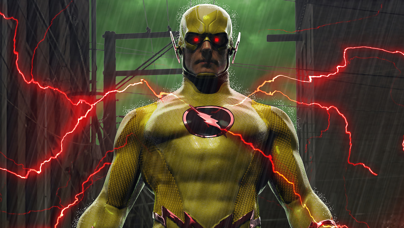 1360x768 Reverse Flash Laptop Hd Hd 4k Wallpapers Images