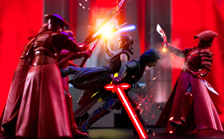 2880x1800 Rey Kylo Ren In Star Wars The Last Jedi Macbook Pro